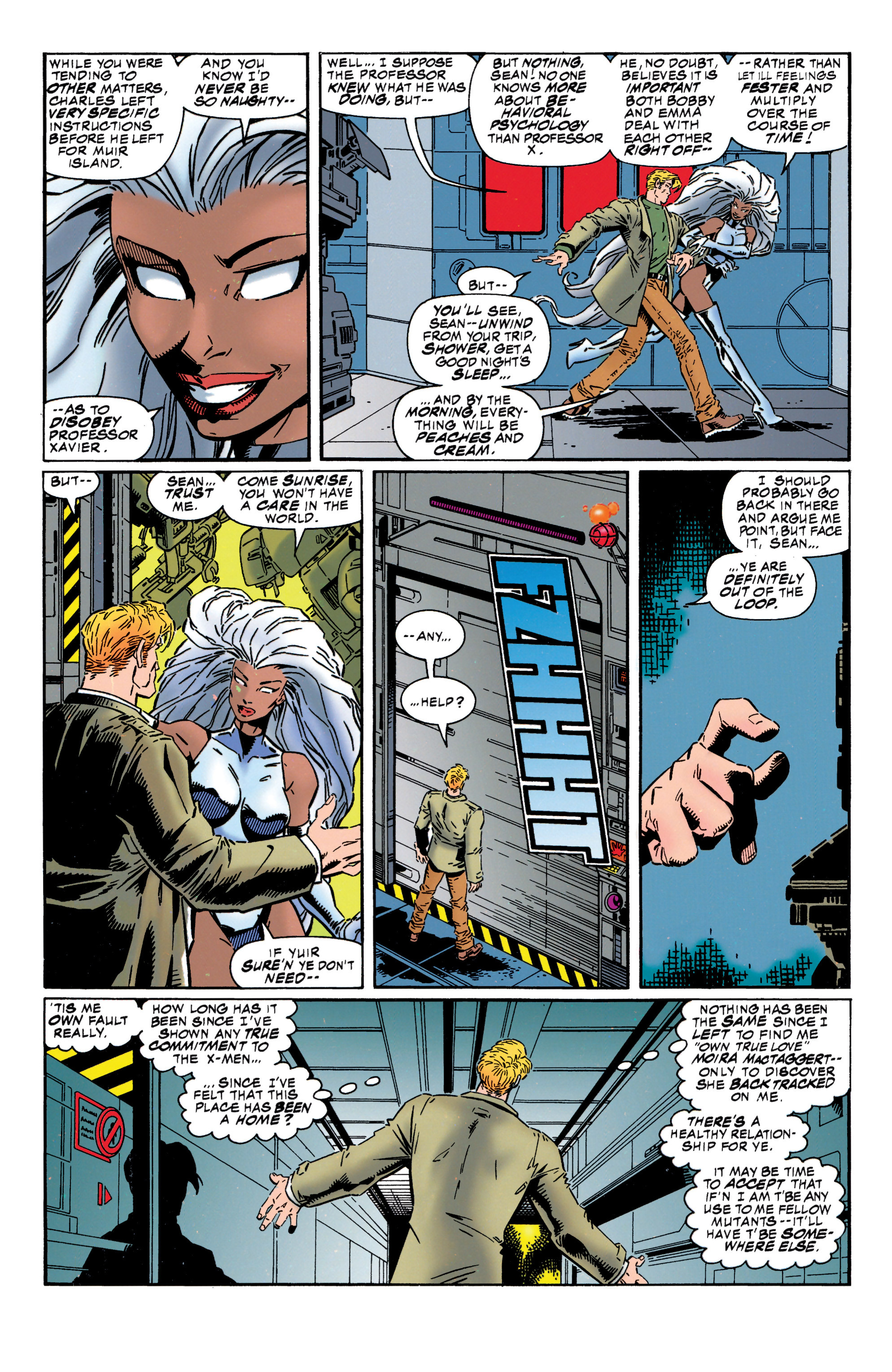 Read online Uncanny X-Men (1963) comic -  Issue #316 - 9