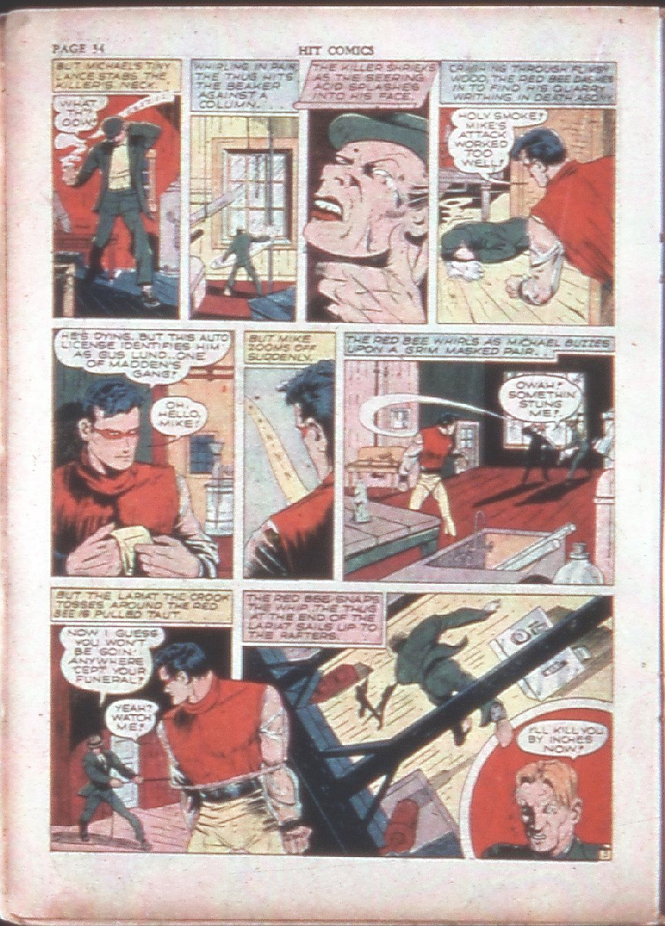 Read online Hit Comics comic -  Issue #15 - 36