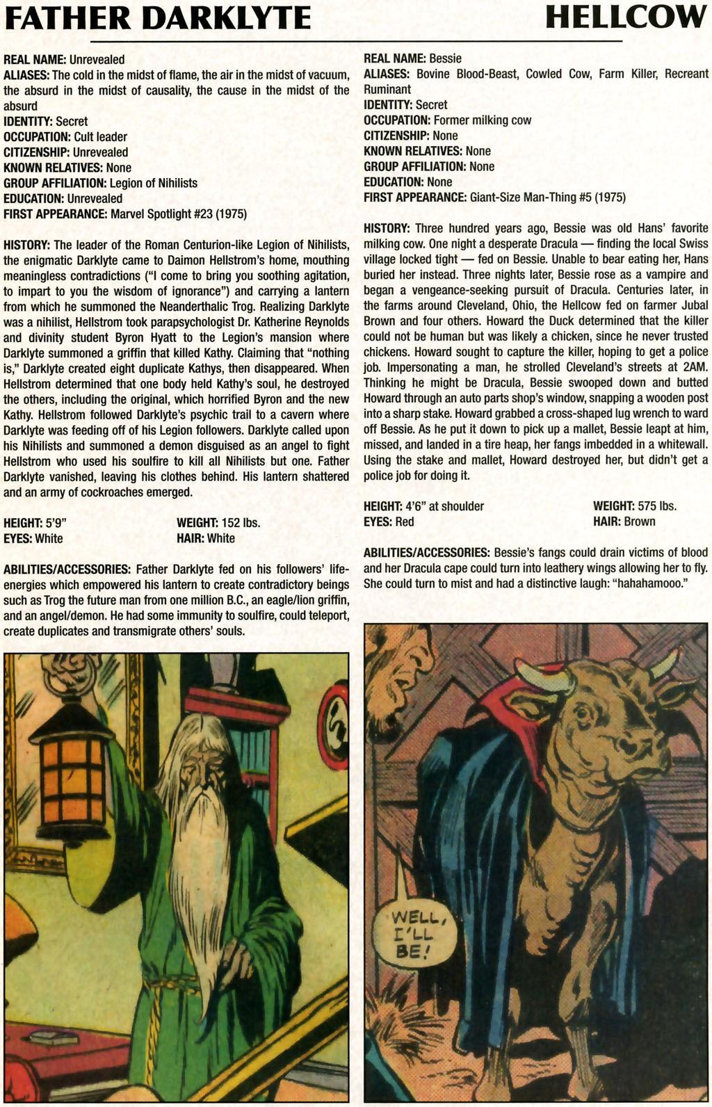 Read online Marvel Legacy: The 1970's Handbook comic -  Issue # Full - 27