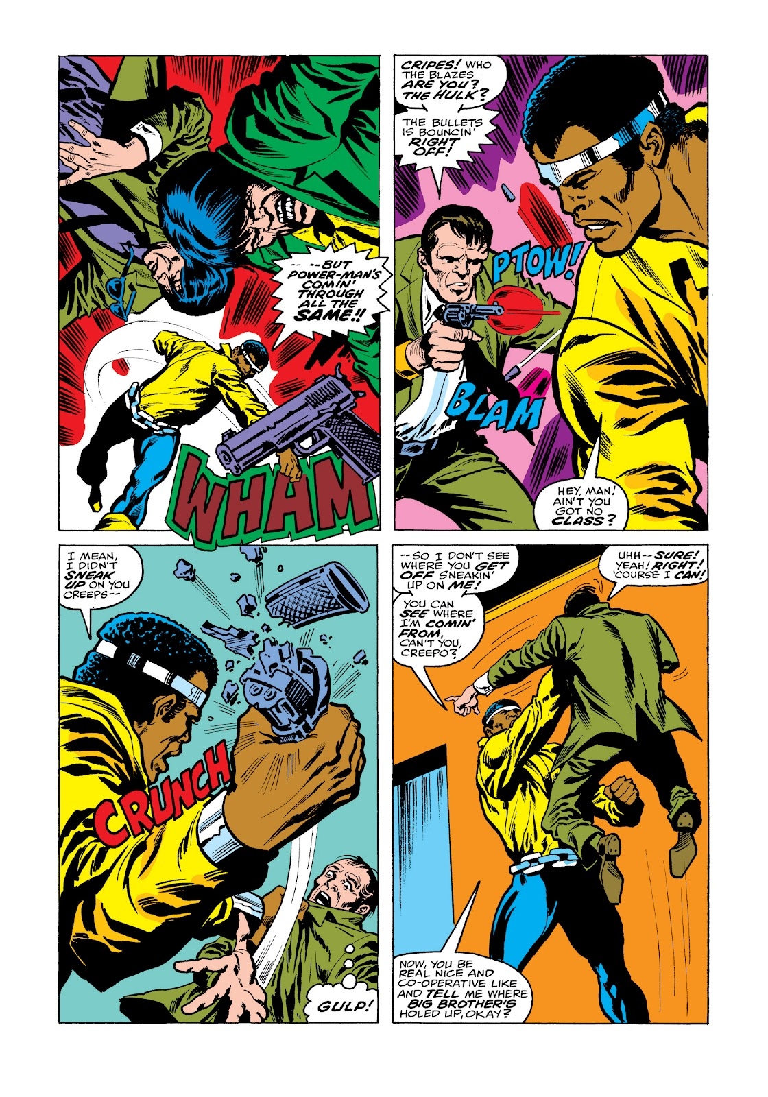 Read online Marvel Masterworks: Luke Cage, Power Man comic -  Issue # TPB 3 (Part 2) - 53