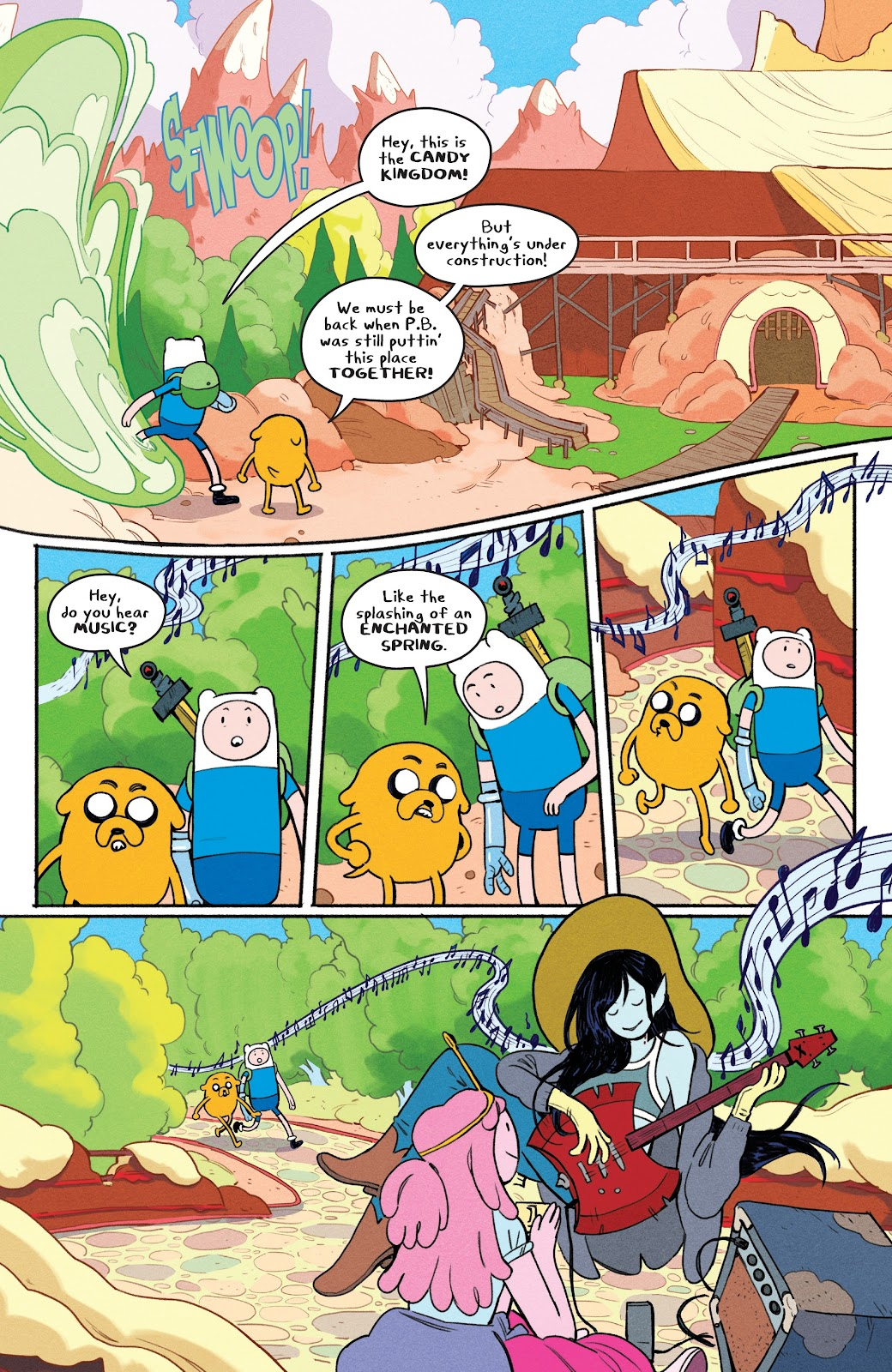 Read online Adventure Time: Beginning of the End comic -  Issue # _TPB - 85