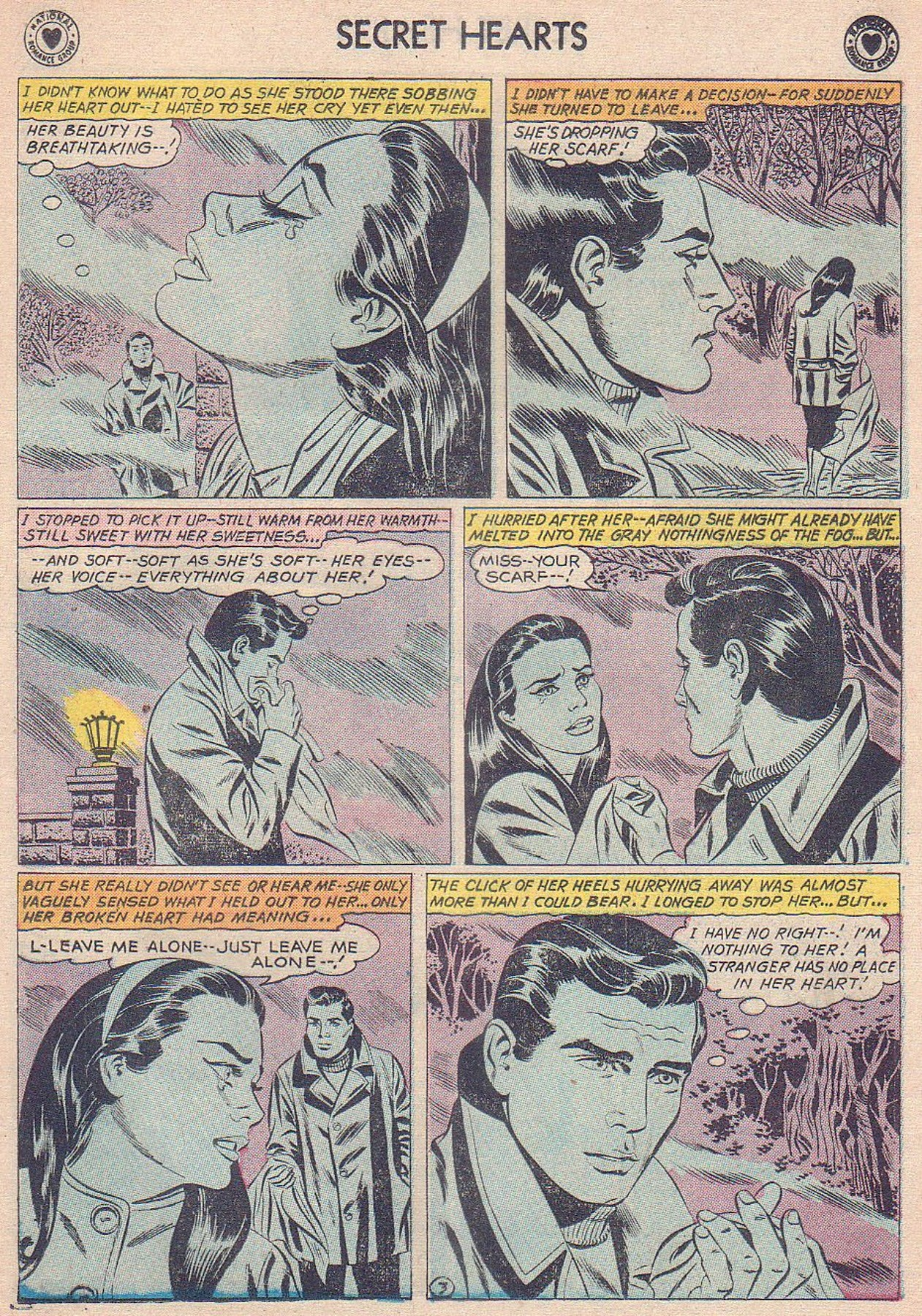 Read online Secret Hearts comic -  Issue #61 - 5