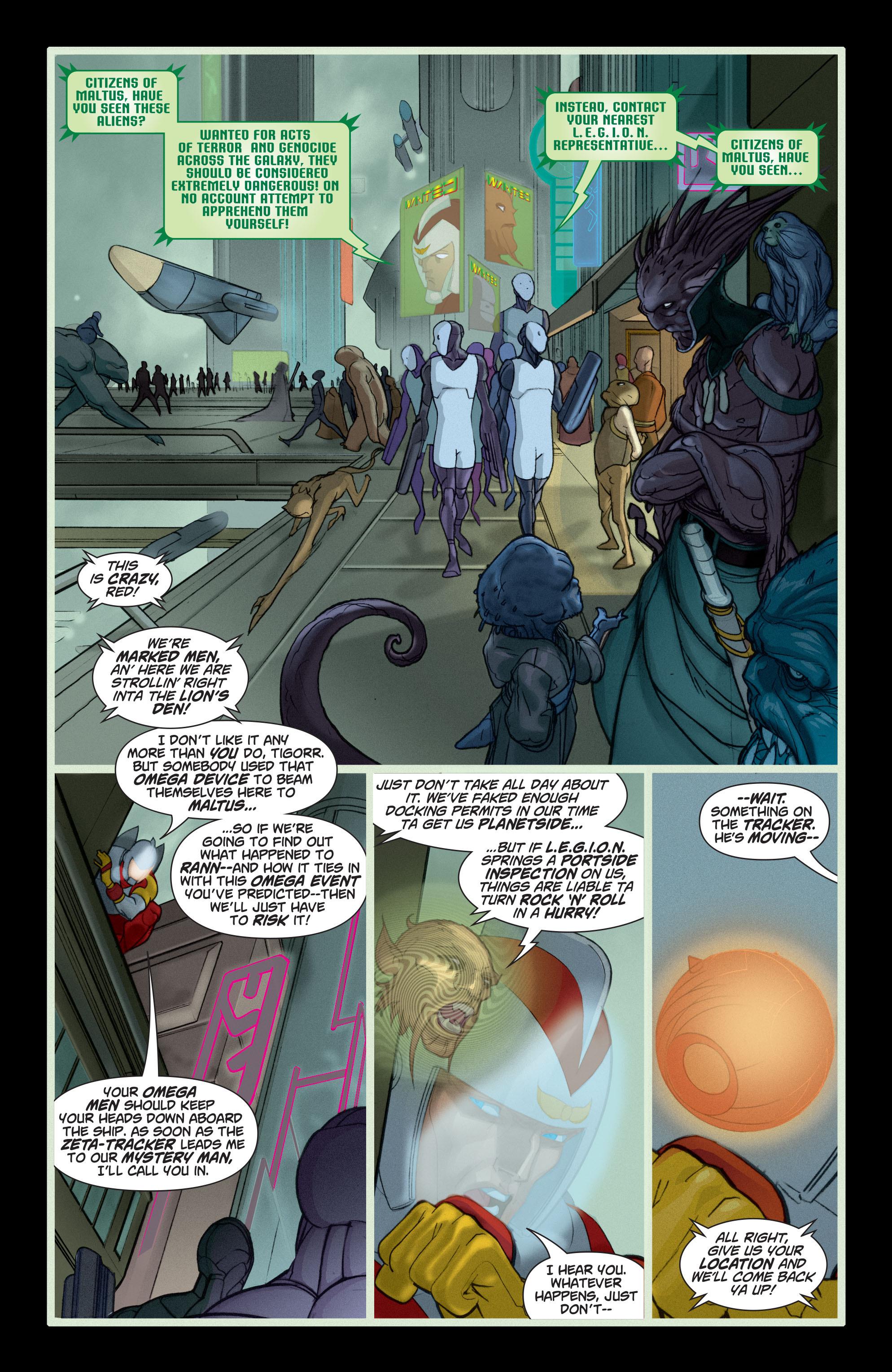 Read online Adam Strange (2004) comic -  Issue #5 - 19
