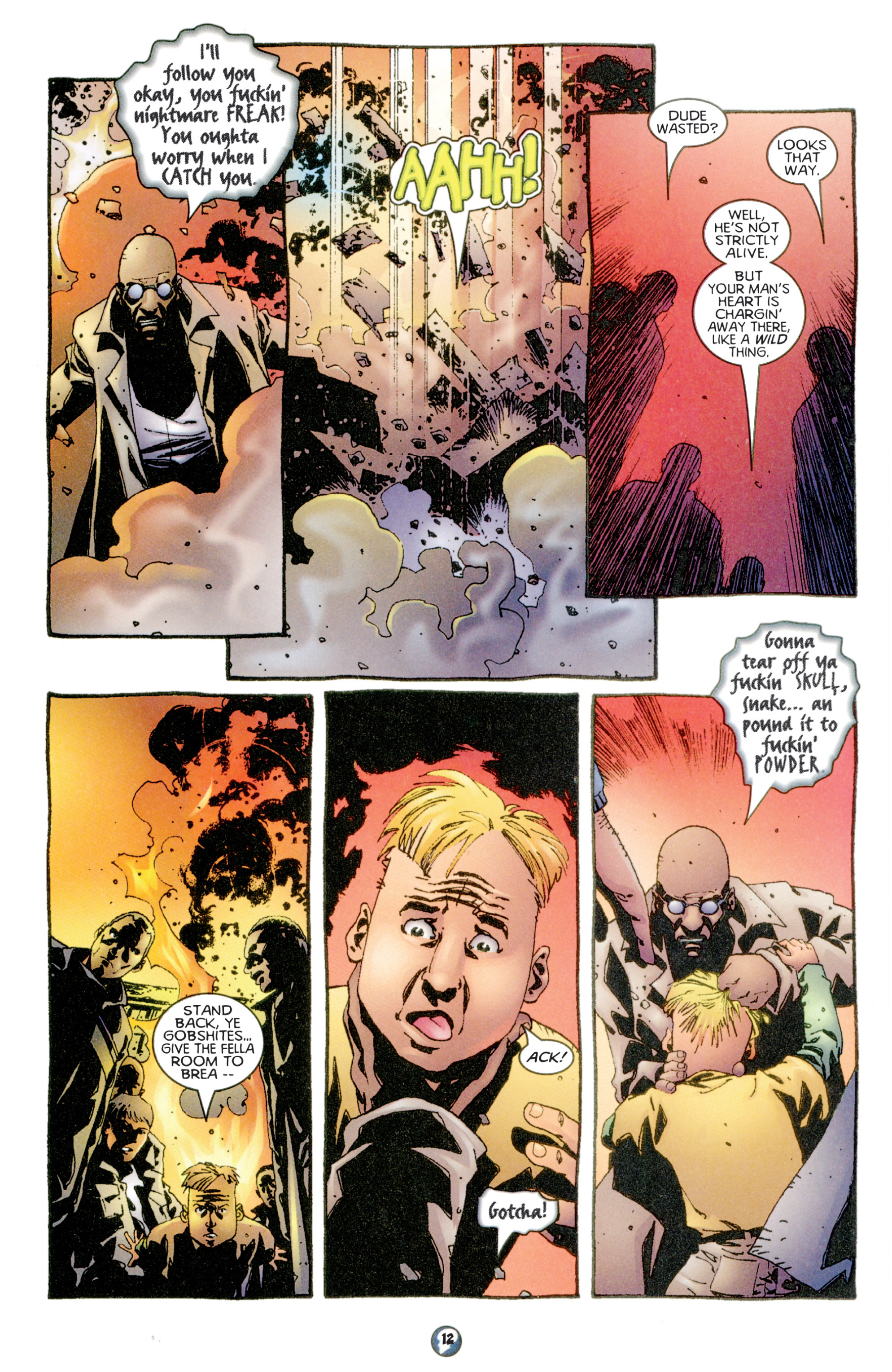 Read online Shadowman (1997) comic -  Issue #6 - 10