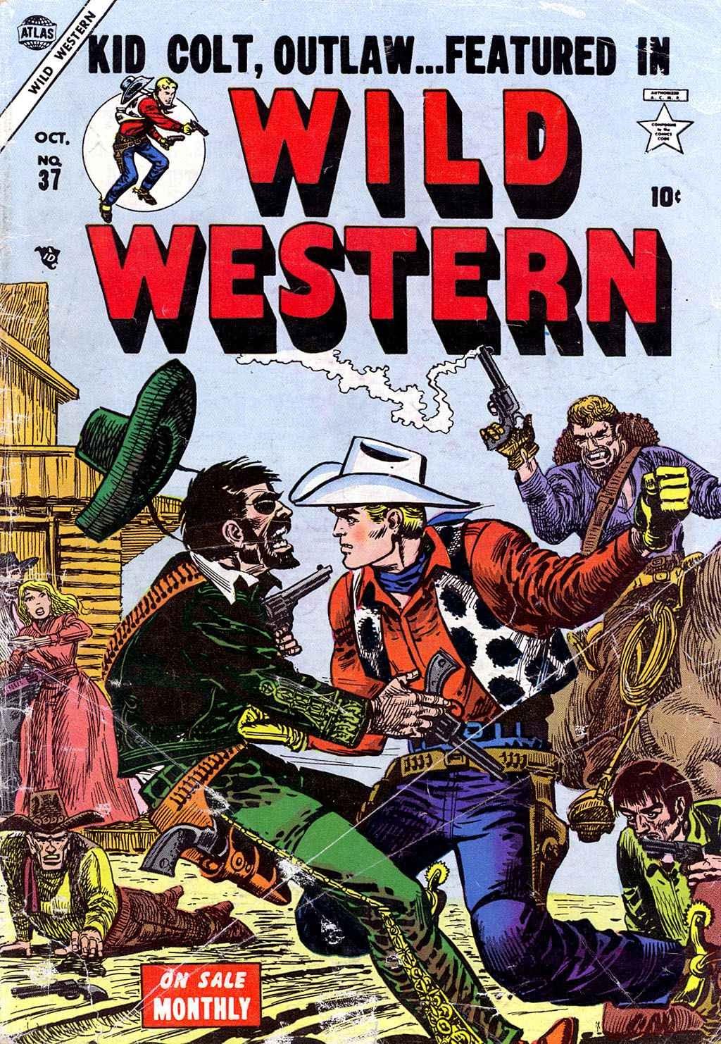 Wild Western 37 Page 1