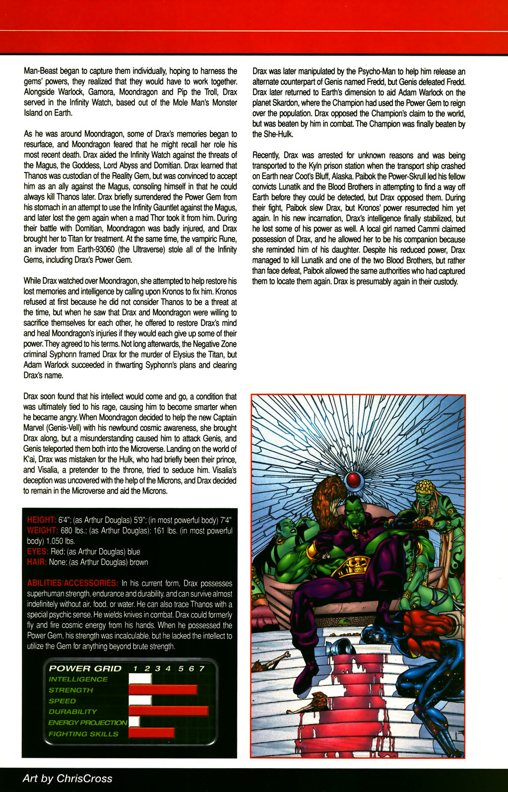 Read online All-New Official Handbook of the Marvel Universe A to Z comic -  Issue #3 - 65