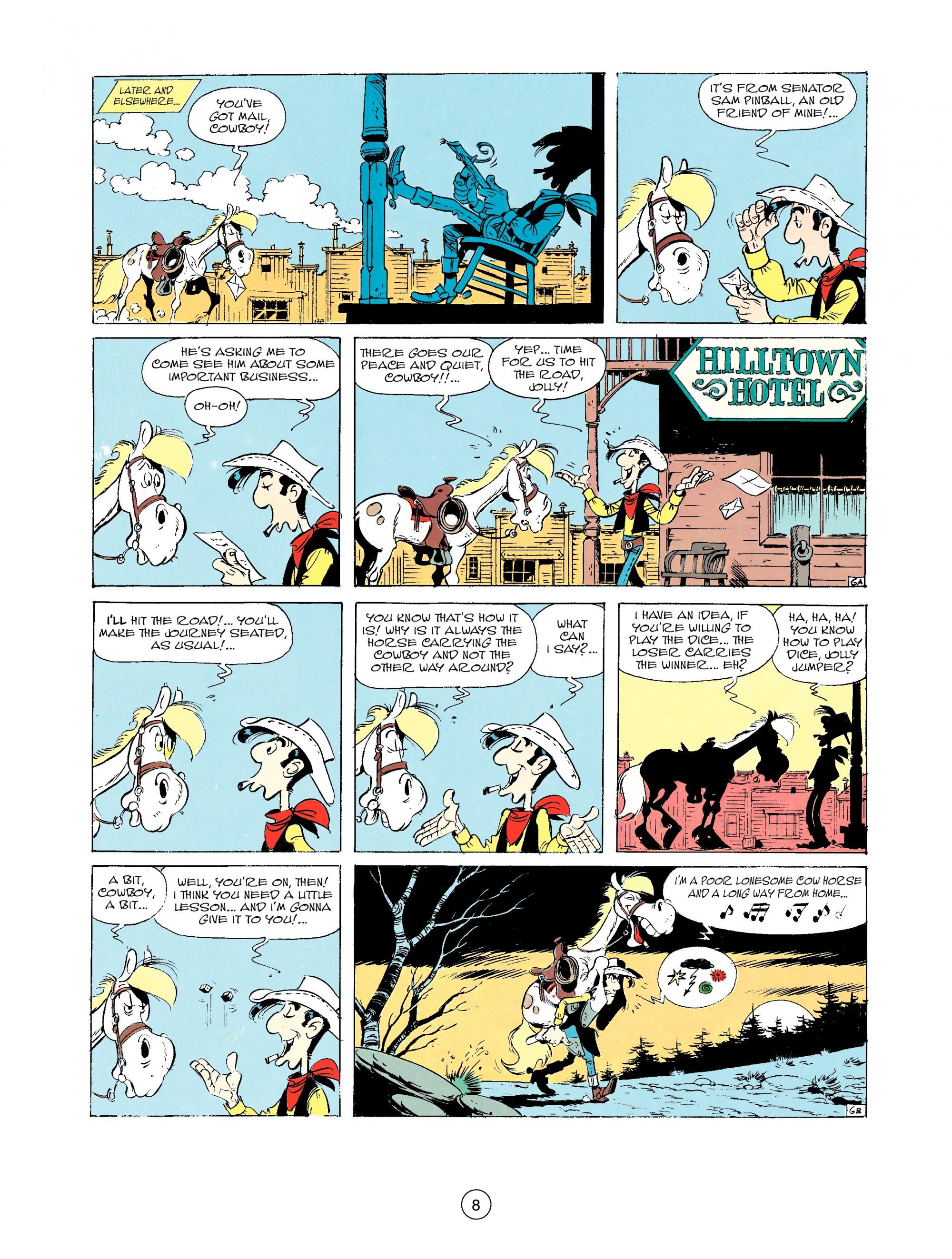 Read online A Lucky Luke Adventure comic -  Issue #33 - 8