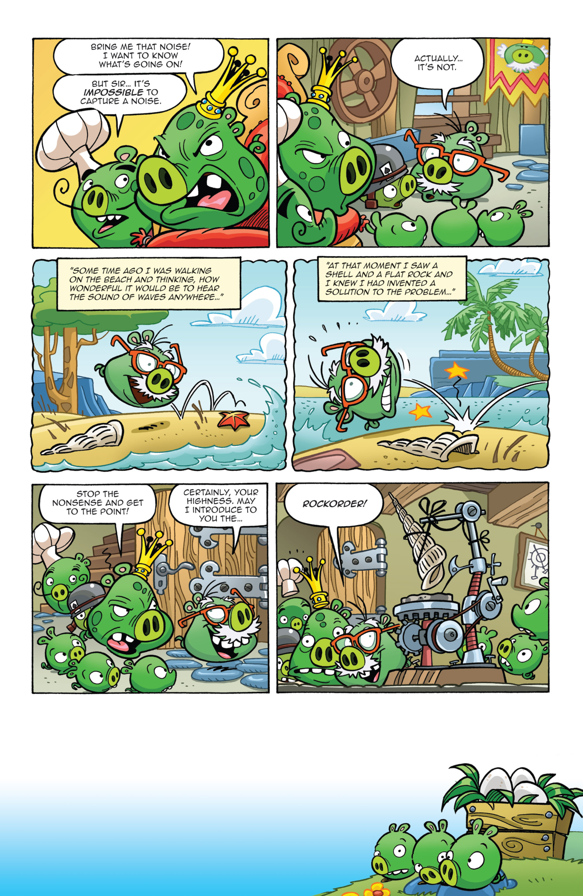 Read online Angry Birds Comics (2014) comic -  Issue #7 - 5
