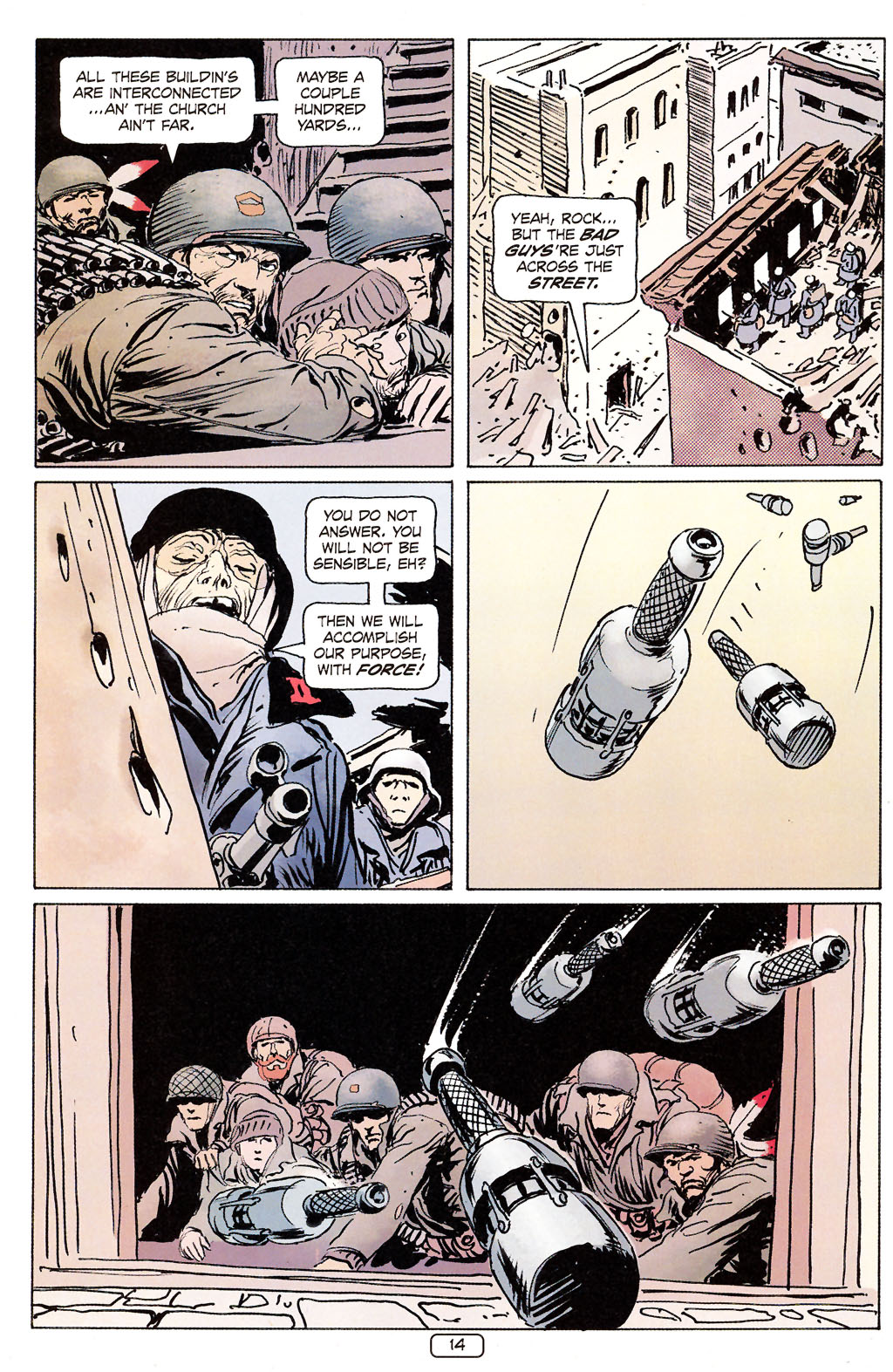 Read online Sgt. Rock: The Prophecy comic -  Issue #6 - 14