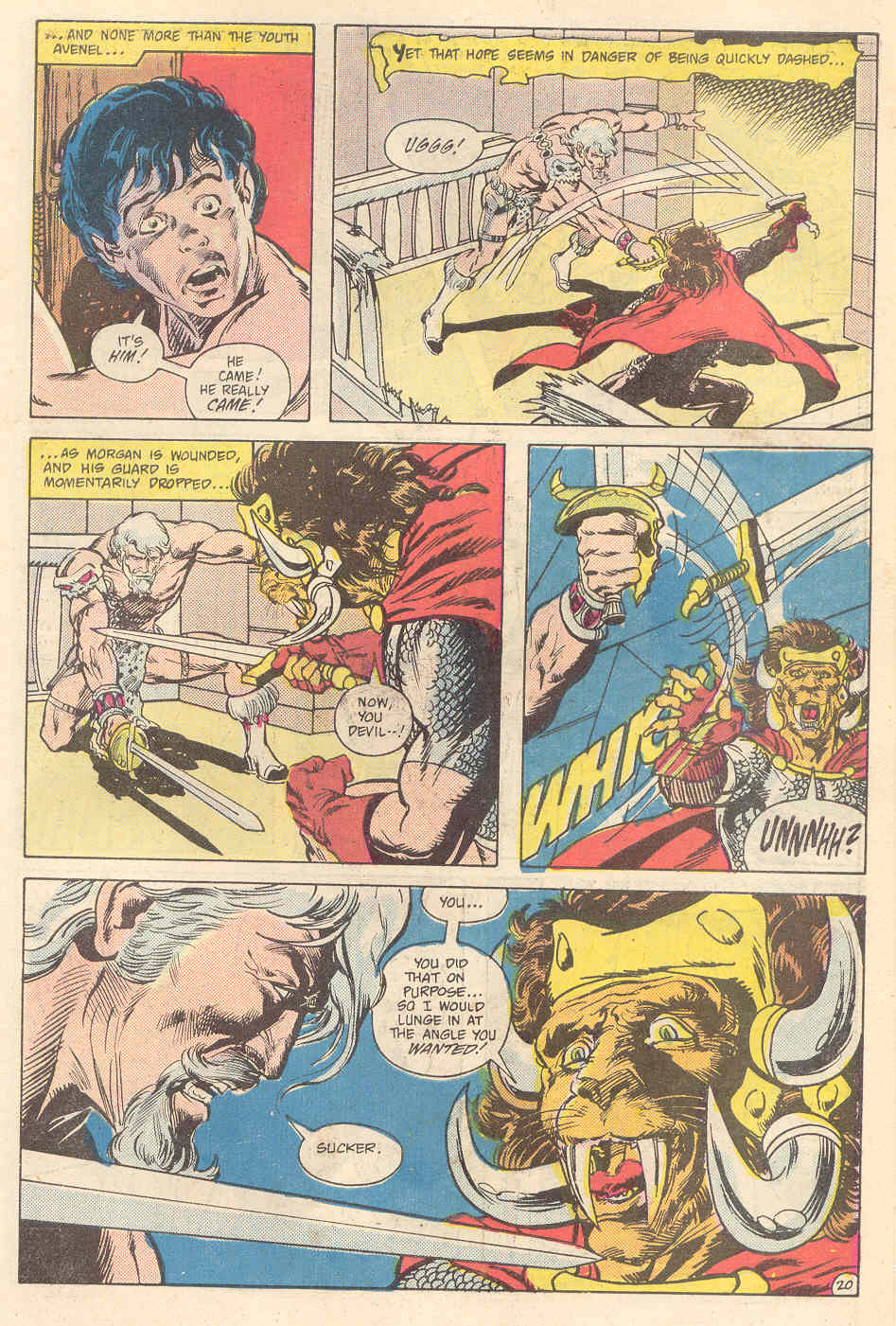 Warlord (1976) issue 89 - Page 20