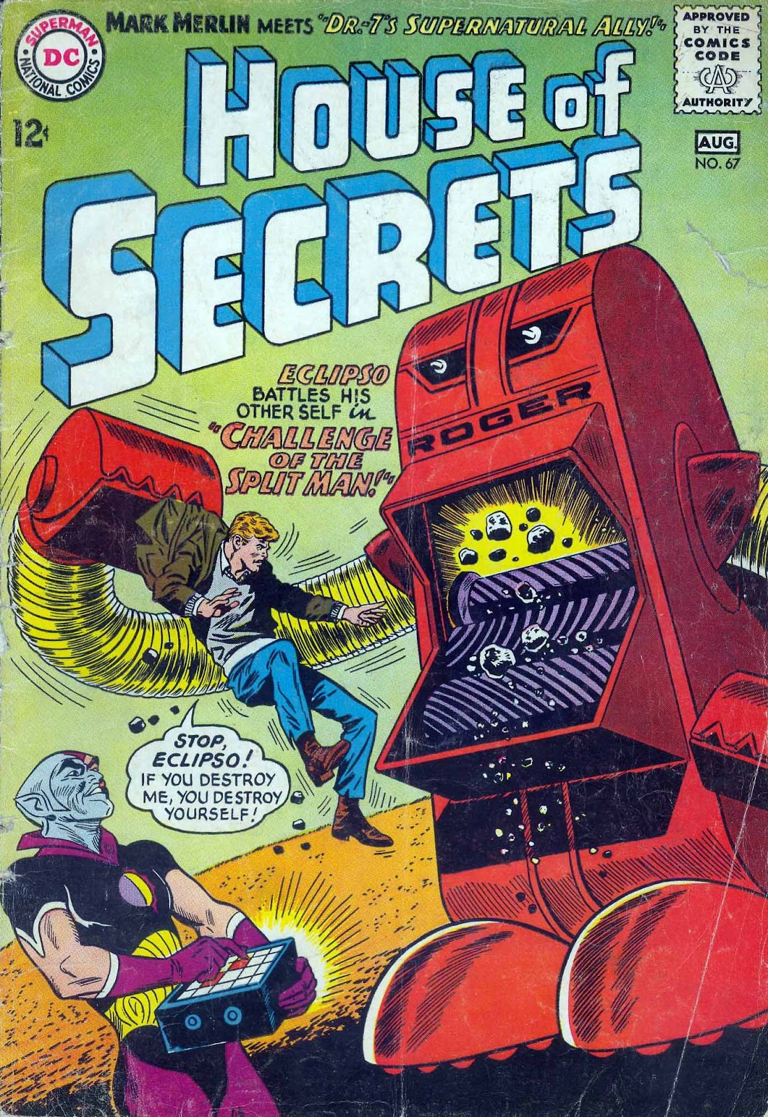 House of Secrets (1956) issue 67 - Page 1