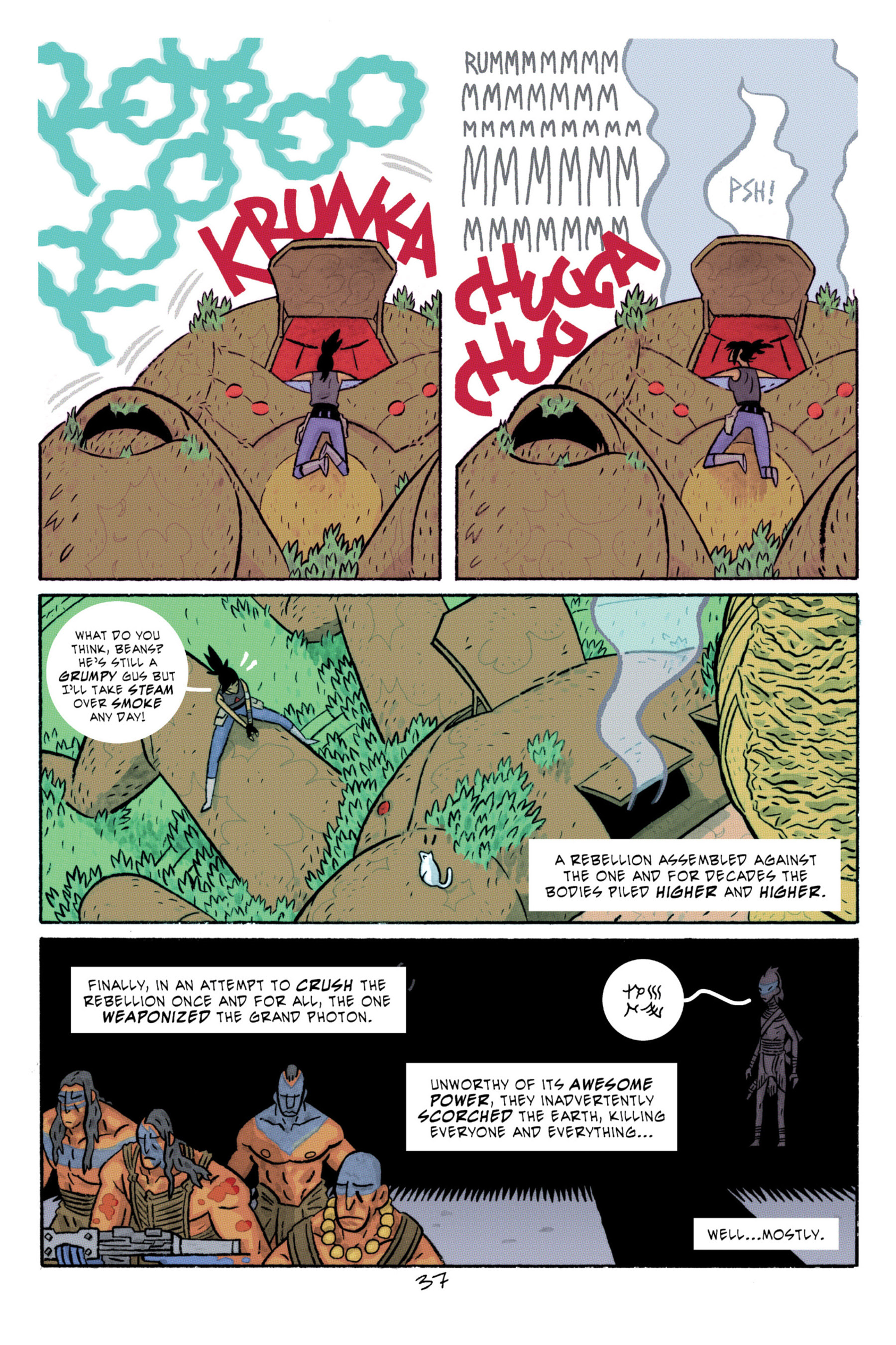 Read online ApocalyptiGirl: An Aria for the End Times comic -  Issue #ApocalyptiGirl: An Aria for the End Times Full - 45