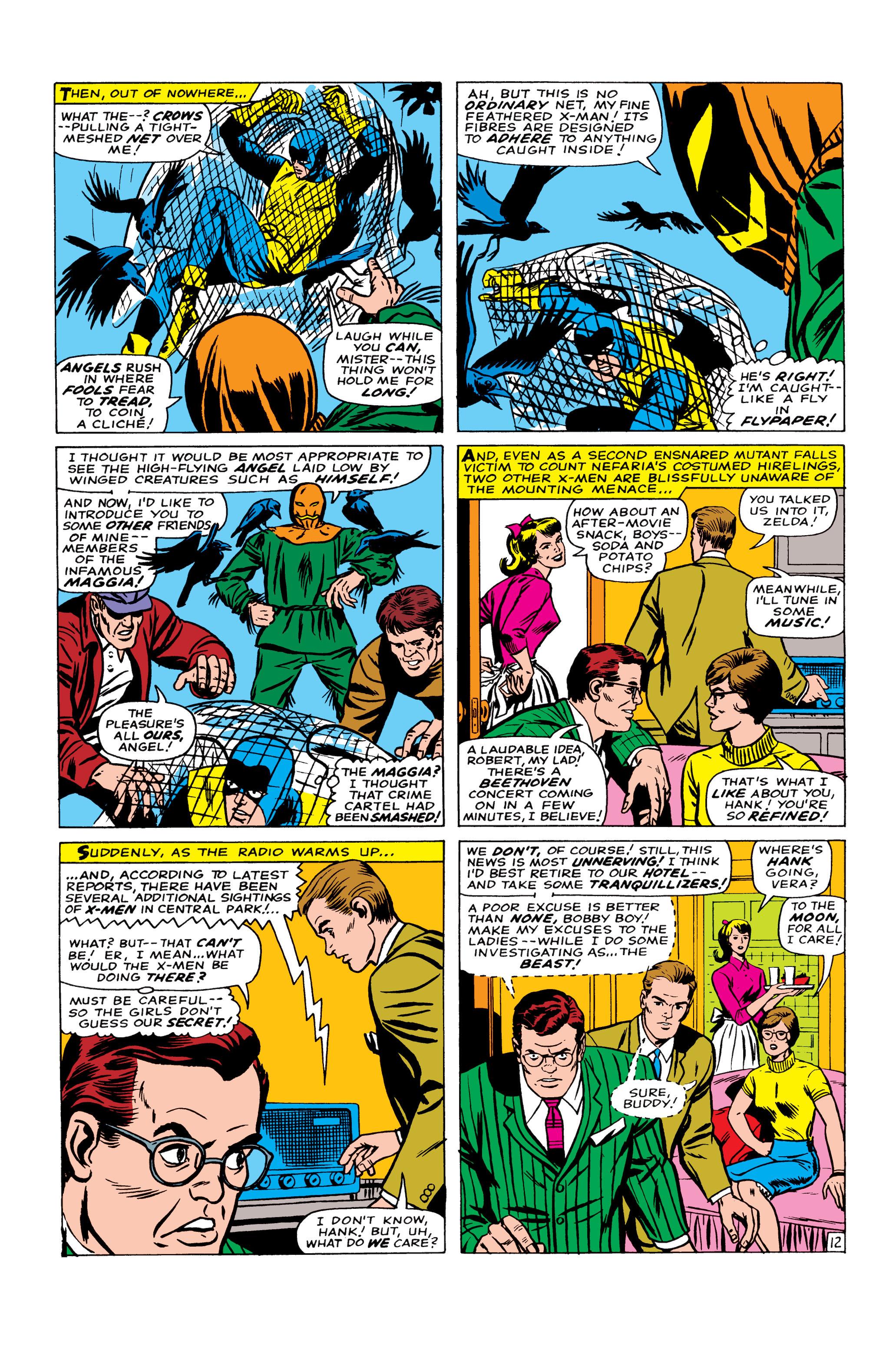 Read online Uncanny X-Men (1963) comic -  Issue #22 - 13