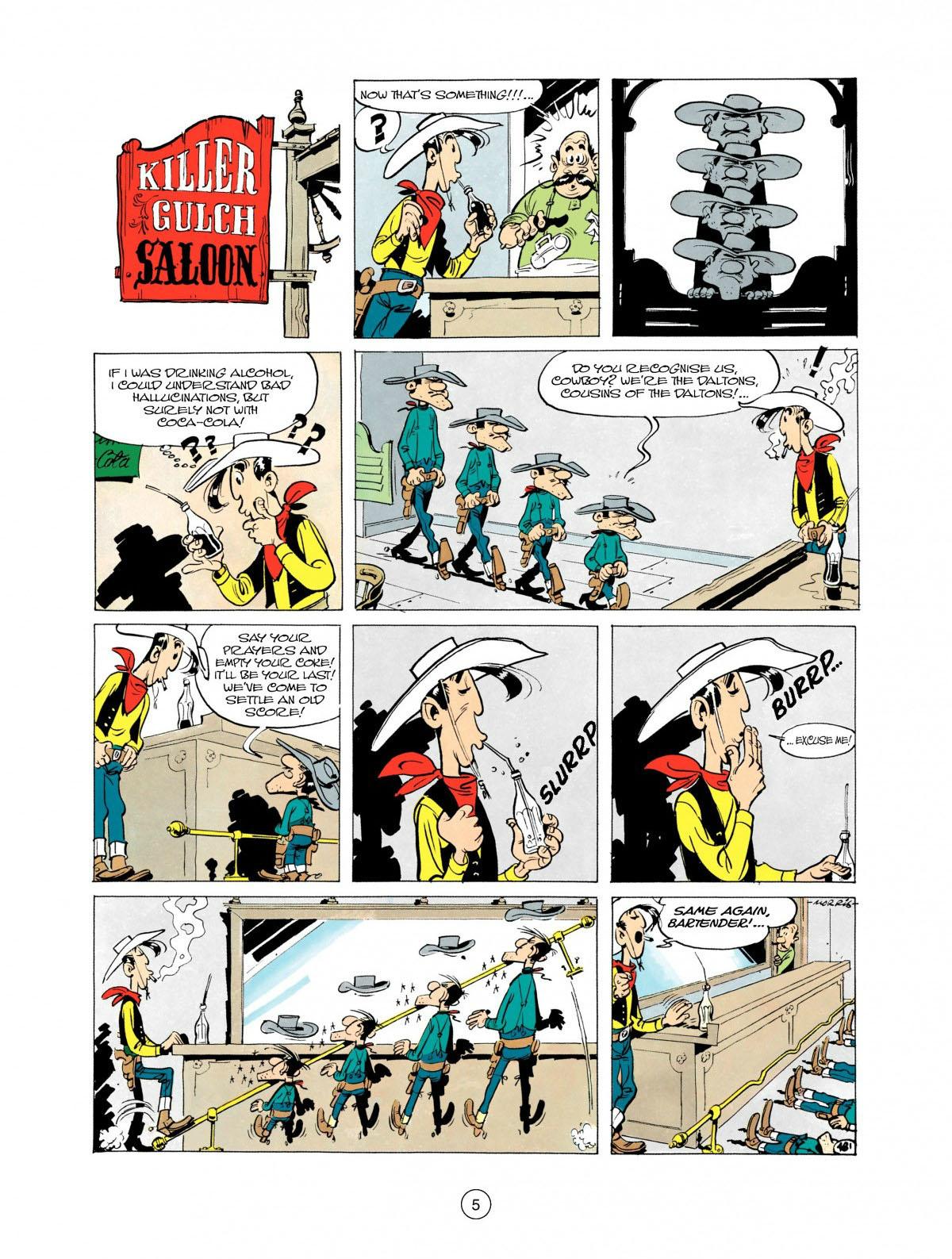 Read online A Lucky Luke Adventure comic -  Issue #28 - 6