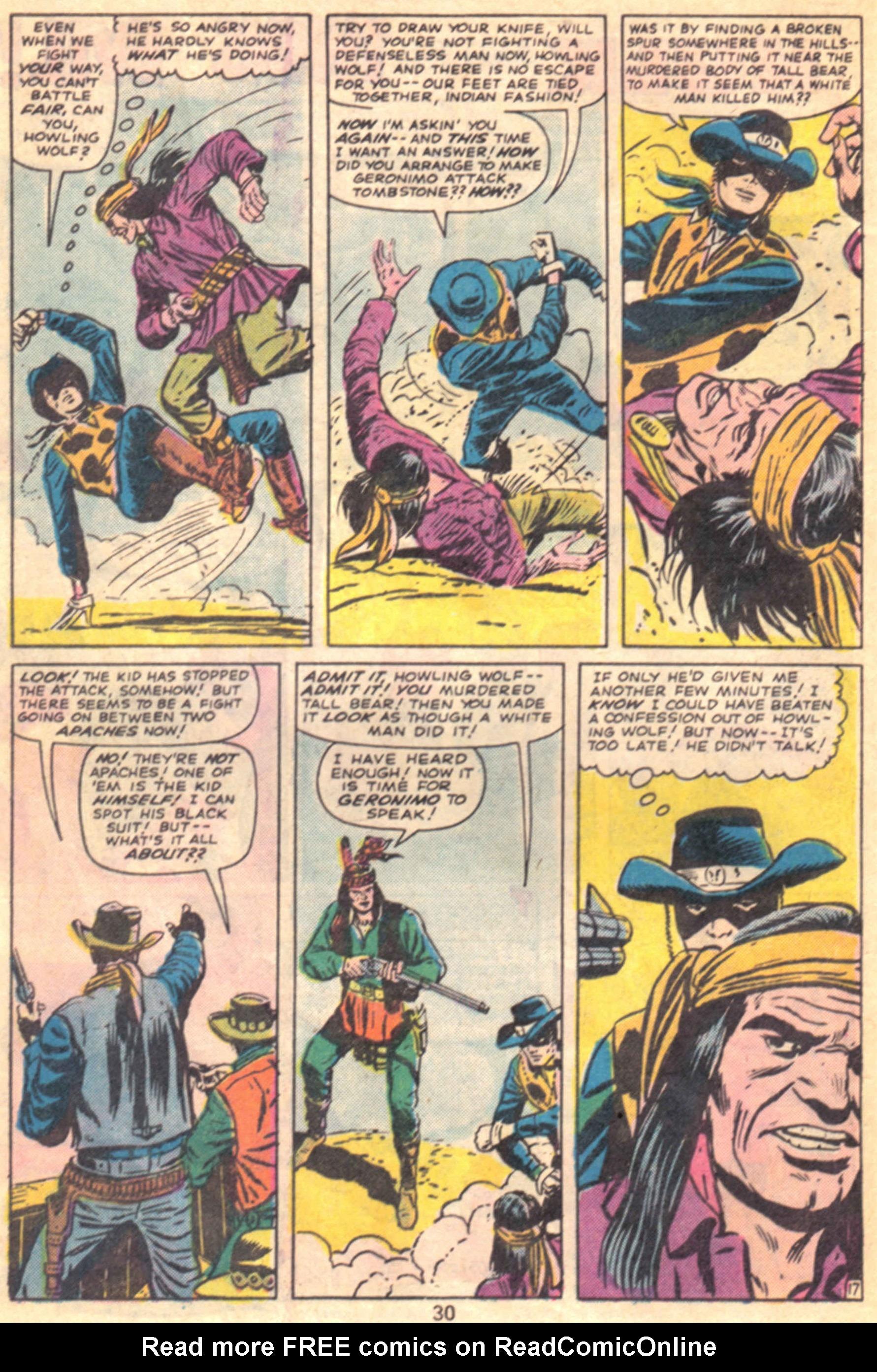 Read online Two-Gun Kid comic -  Issue #127 - 33