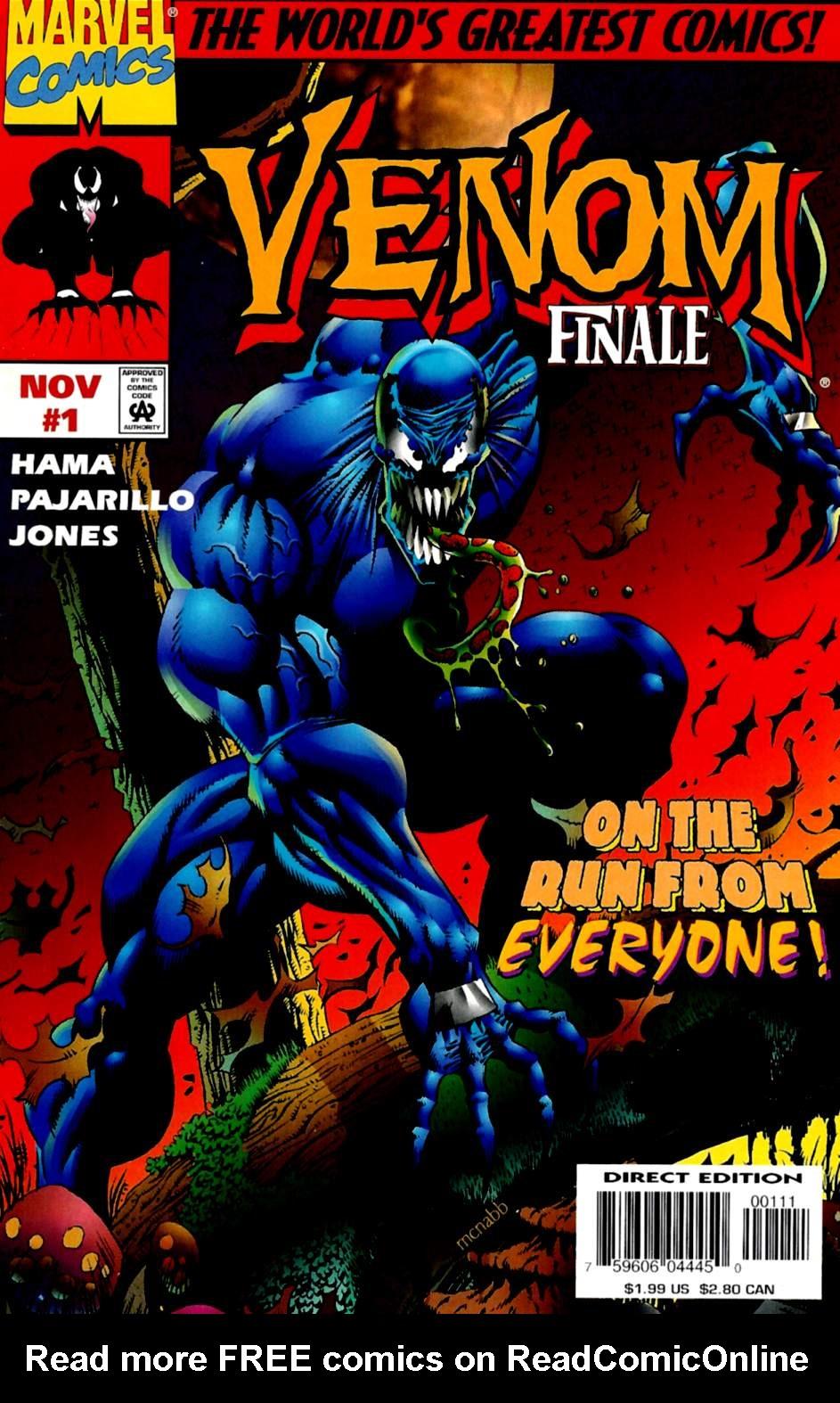 Venom: The Finale issue 1 - Page 1
