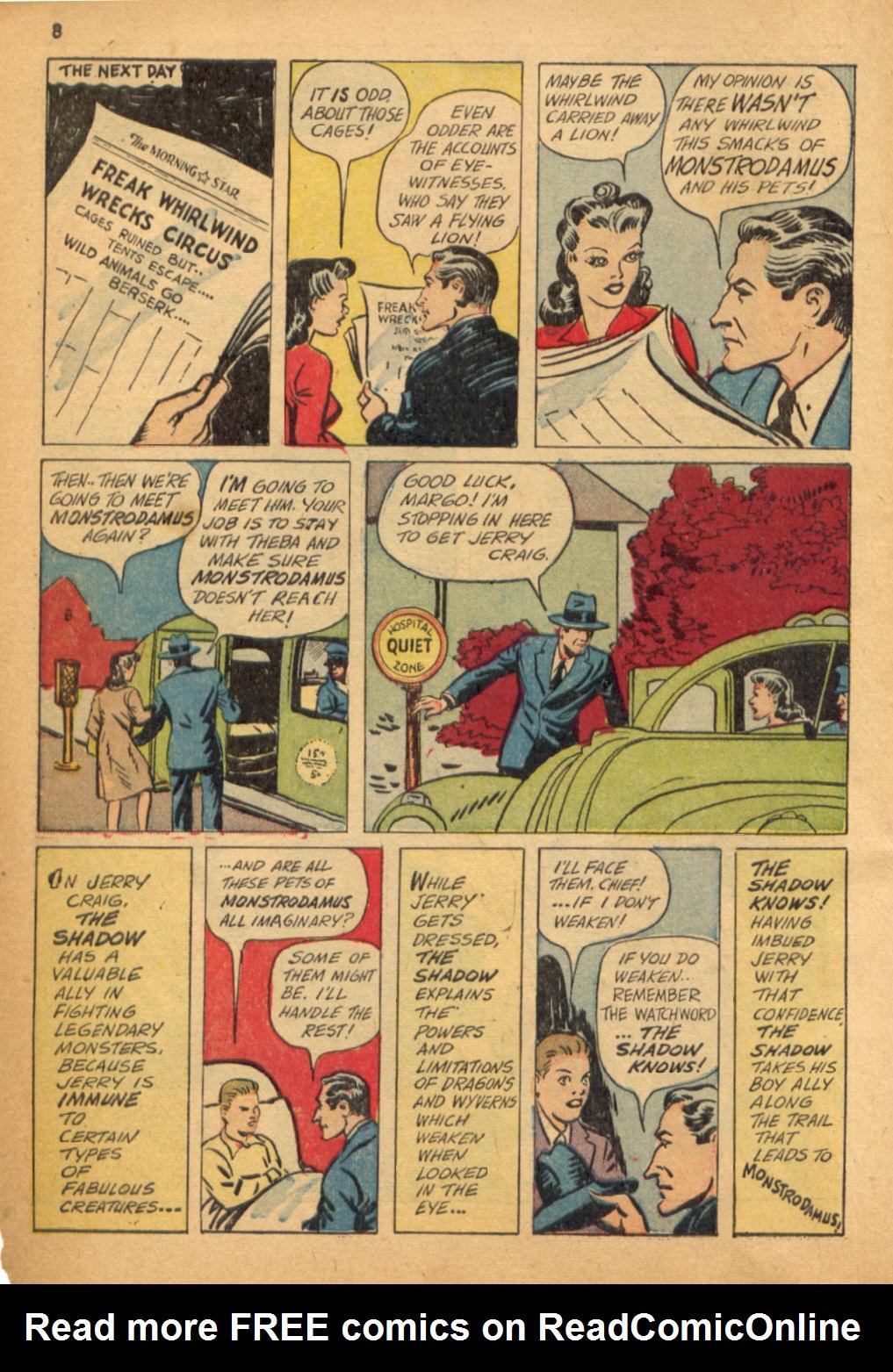 Read online Shadow Comics comic -  Issue #32 - 9