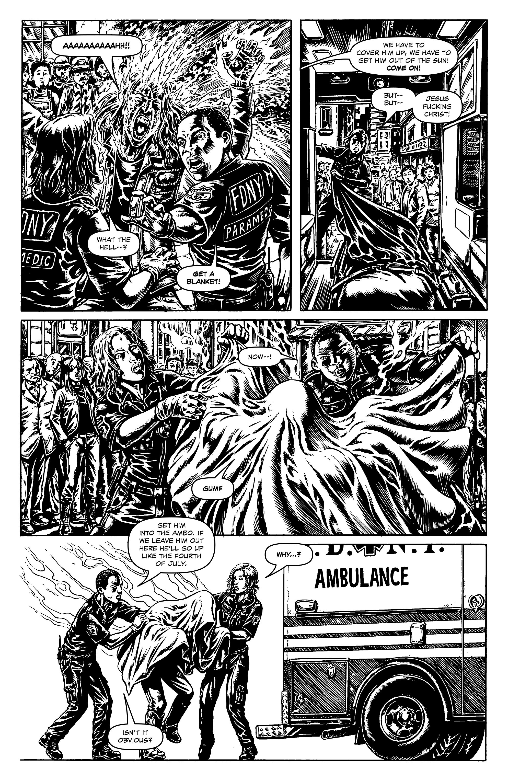 Read online Alan Moore's Cinema Purgatorio comic -  Issue #1 - 16