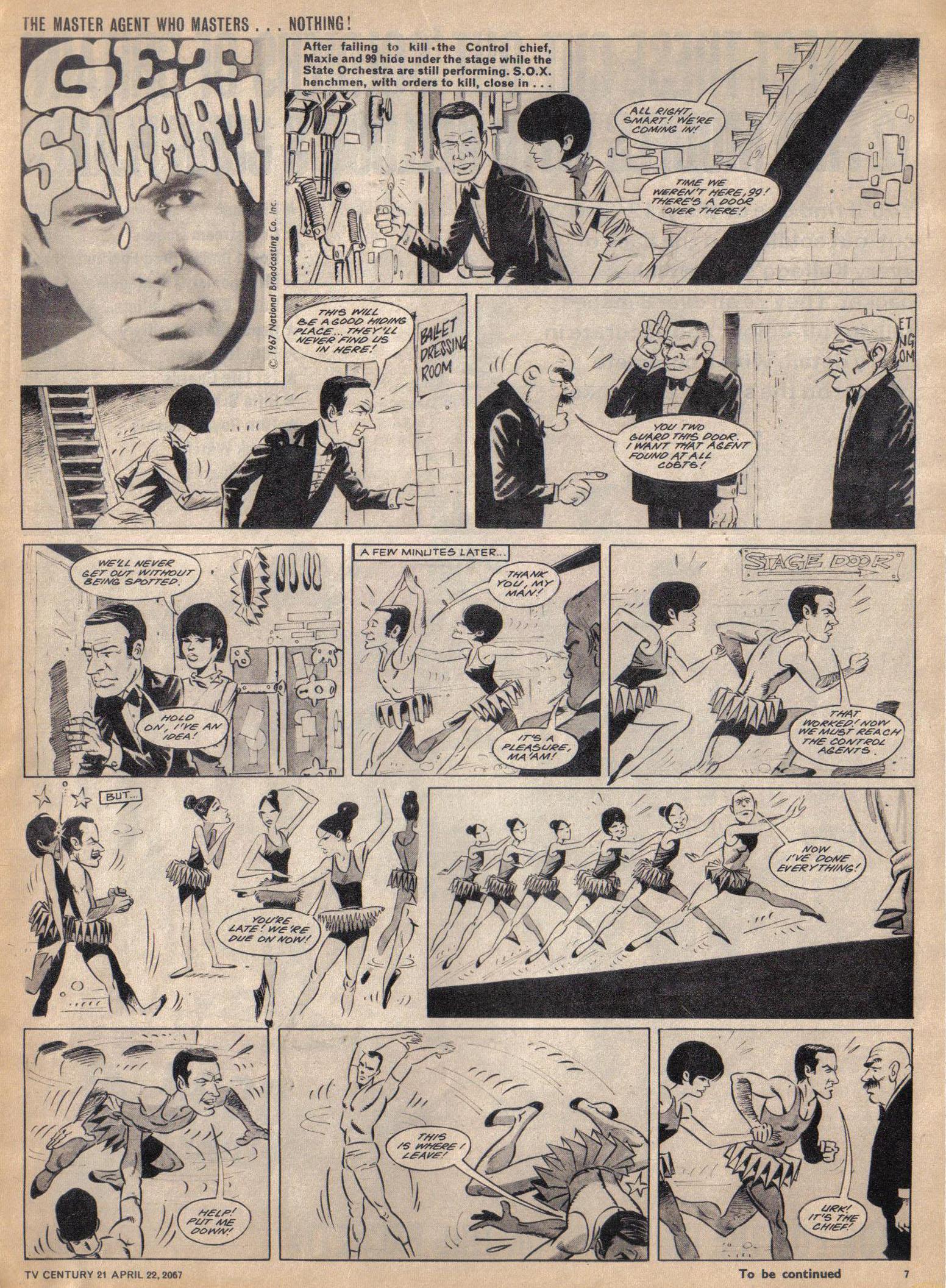 Read online TV Century 21 (TV 21) comic -  Issue #118 - 7