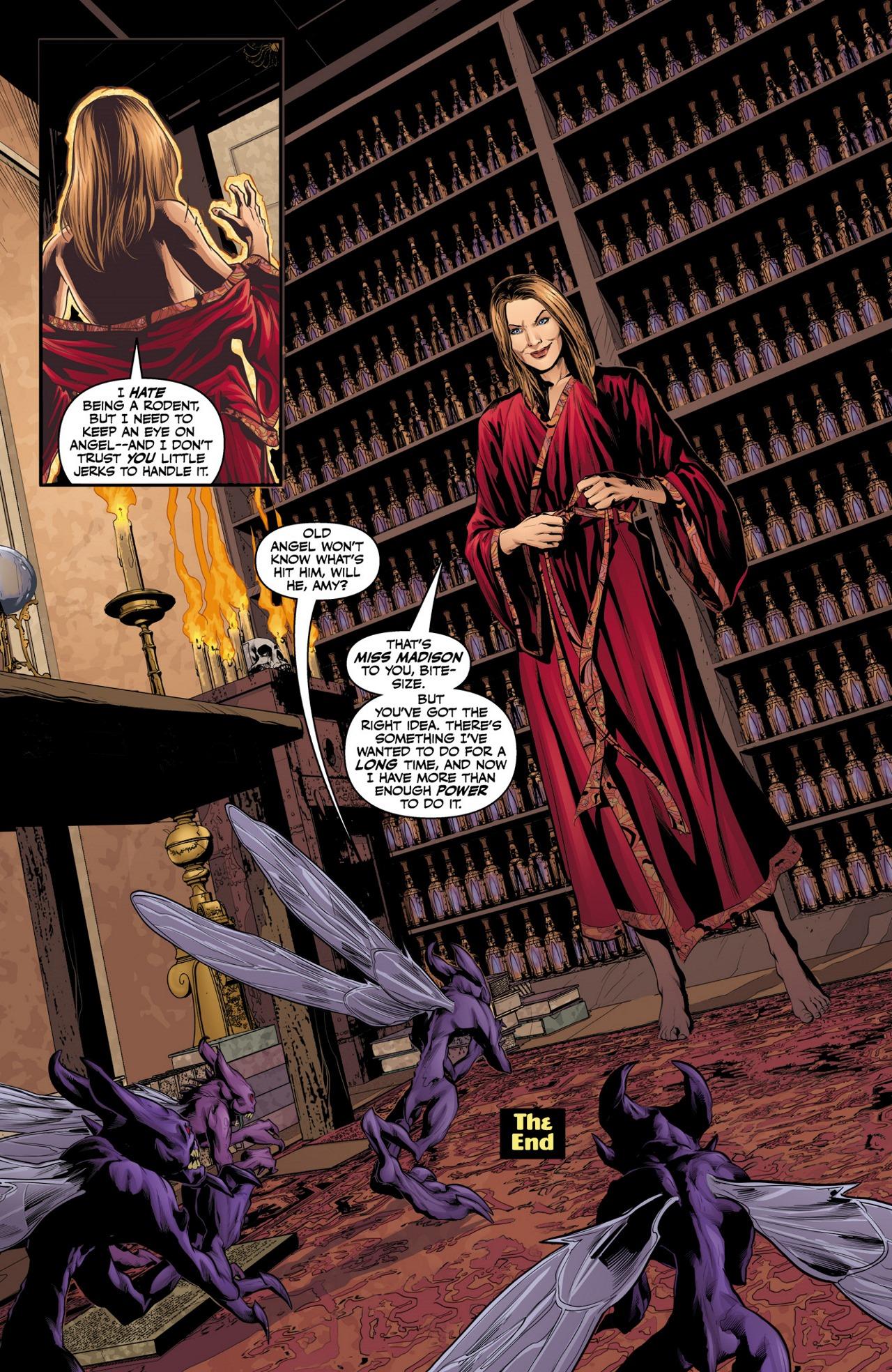 Read online Angel & Faith Season 10 comic -  Issue #4 - 24