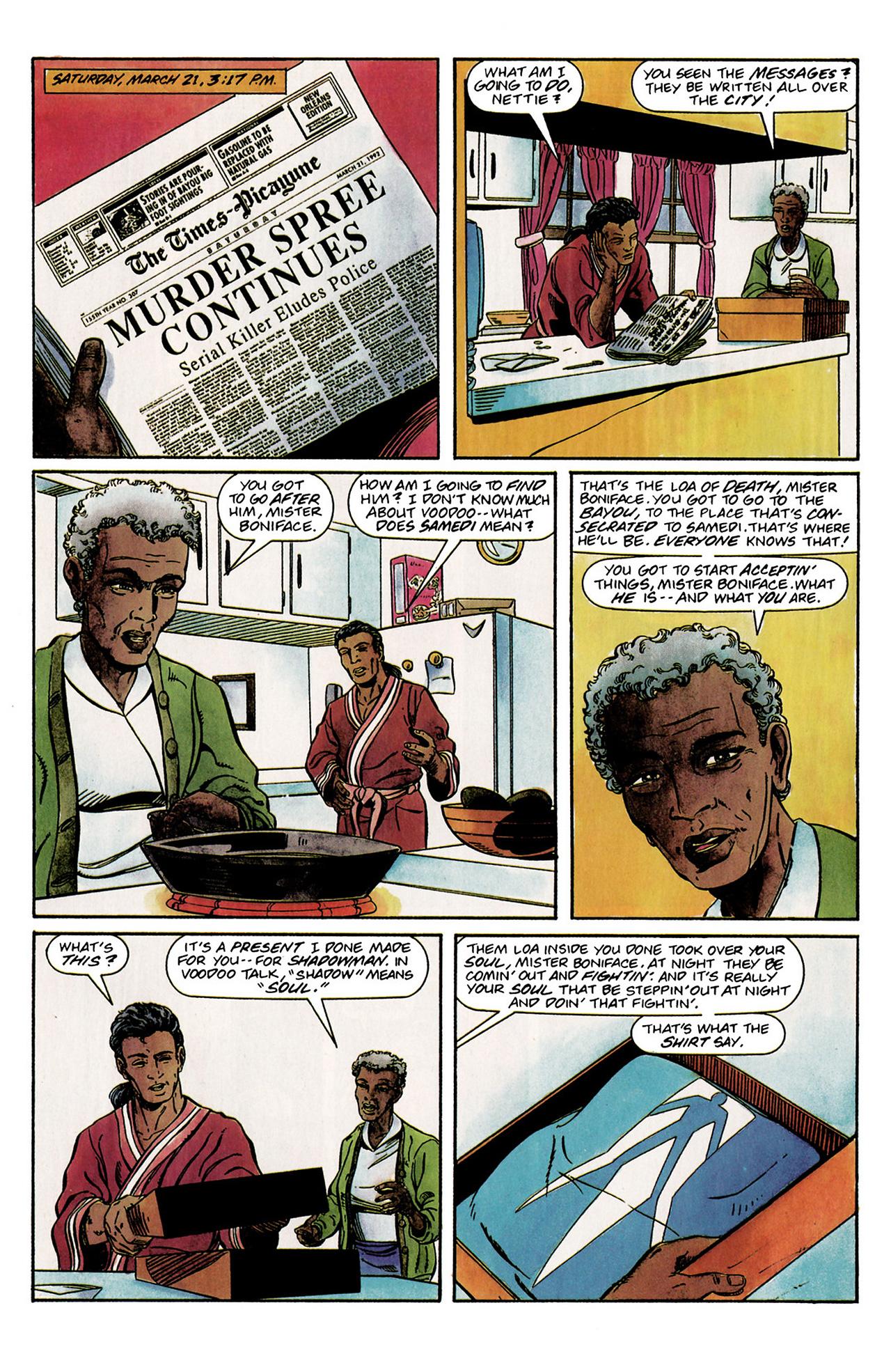 Read online Shadowman (1992) comic -  Issue #2 - 17