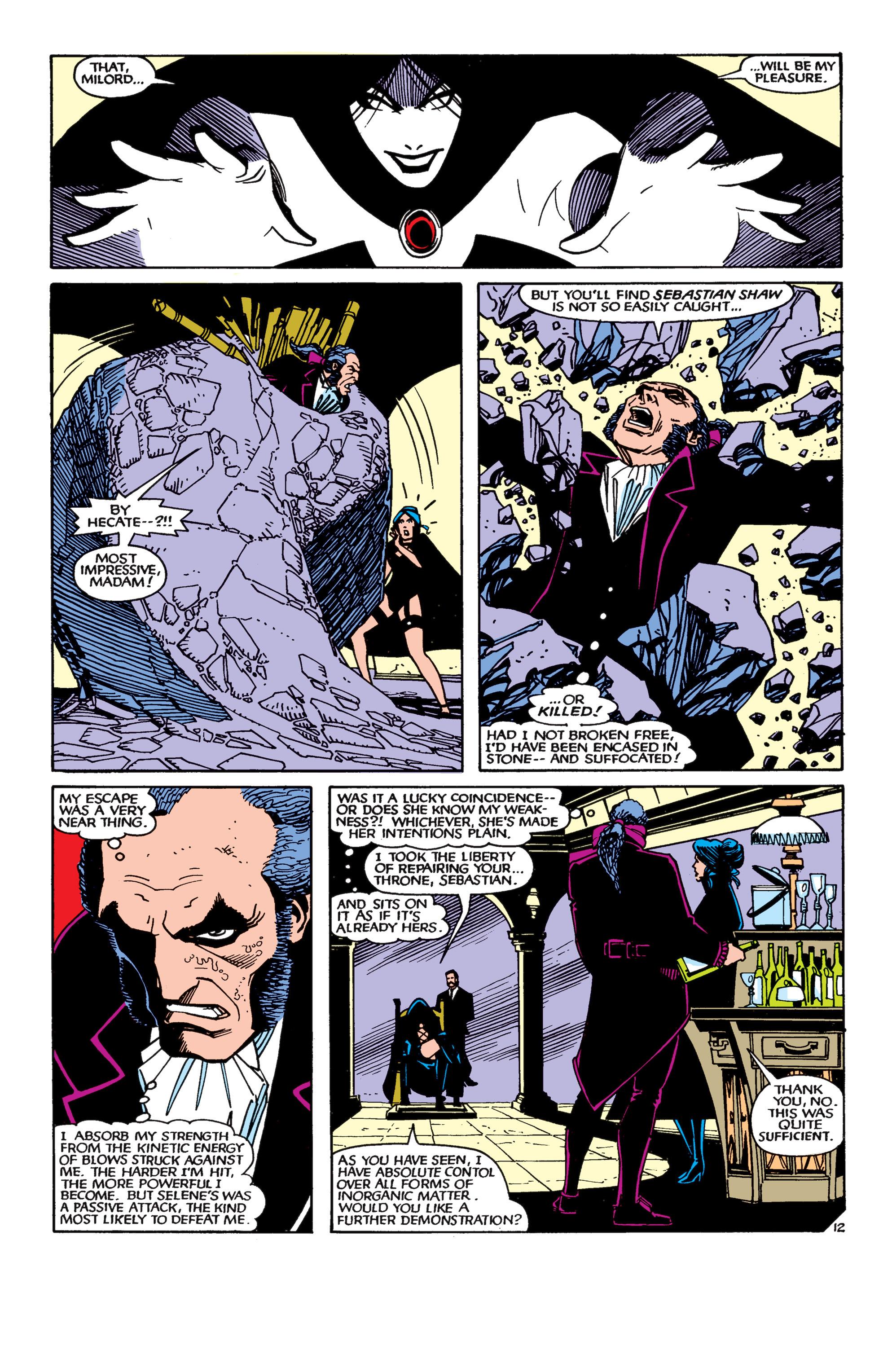 Read online Uncanny X-Men (1963) comic -  Issue #189 - 12