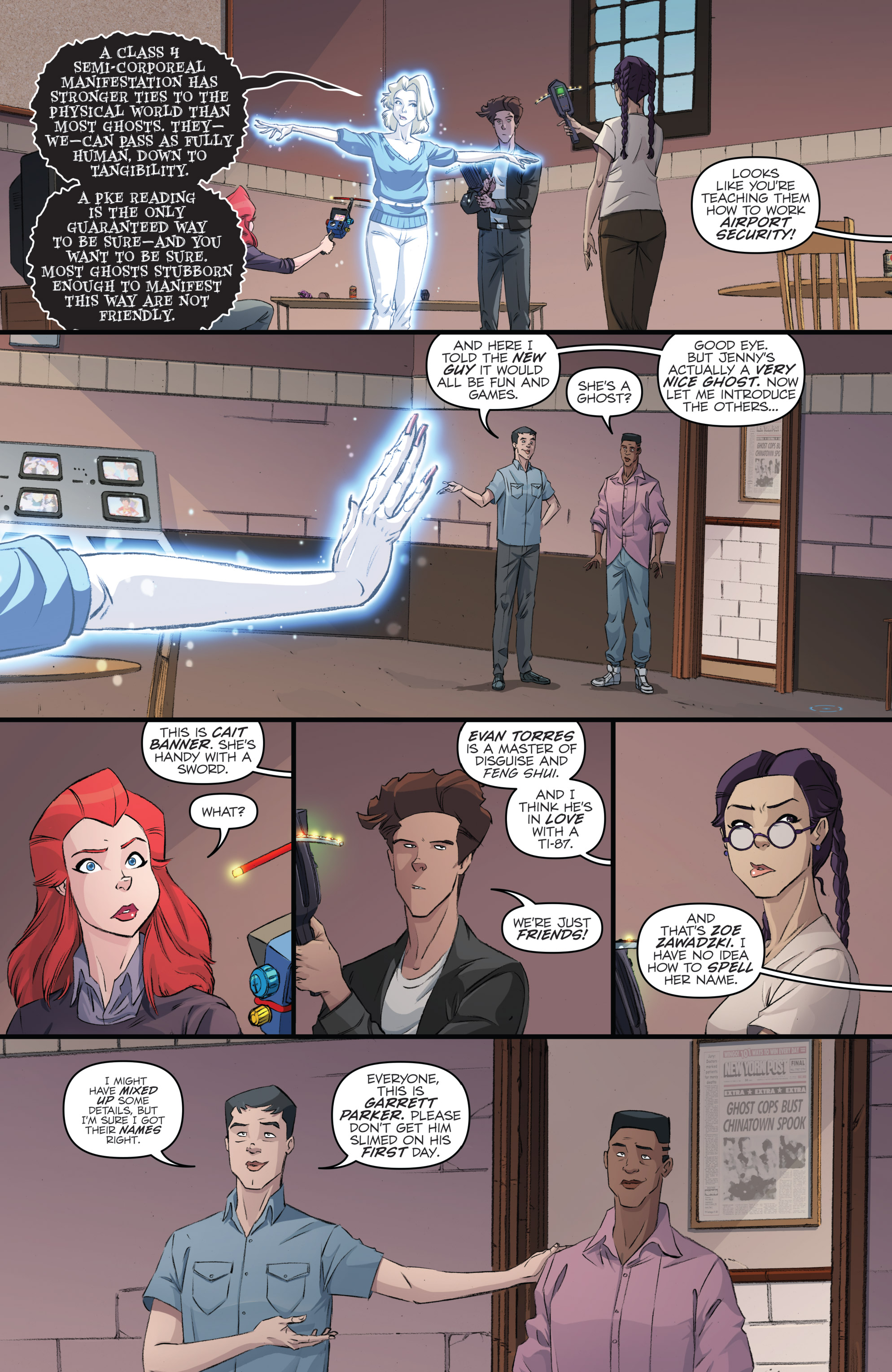 Read online Ghostbusters 101 comic -  Issue #2 - 18