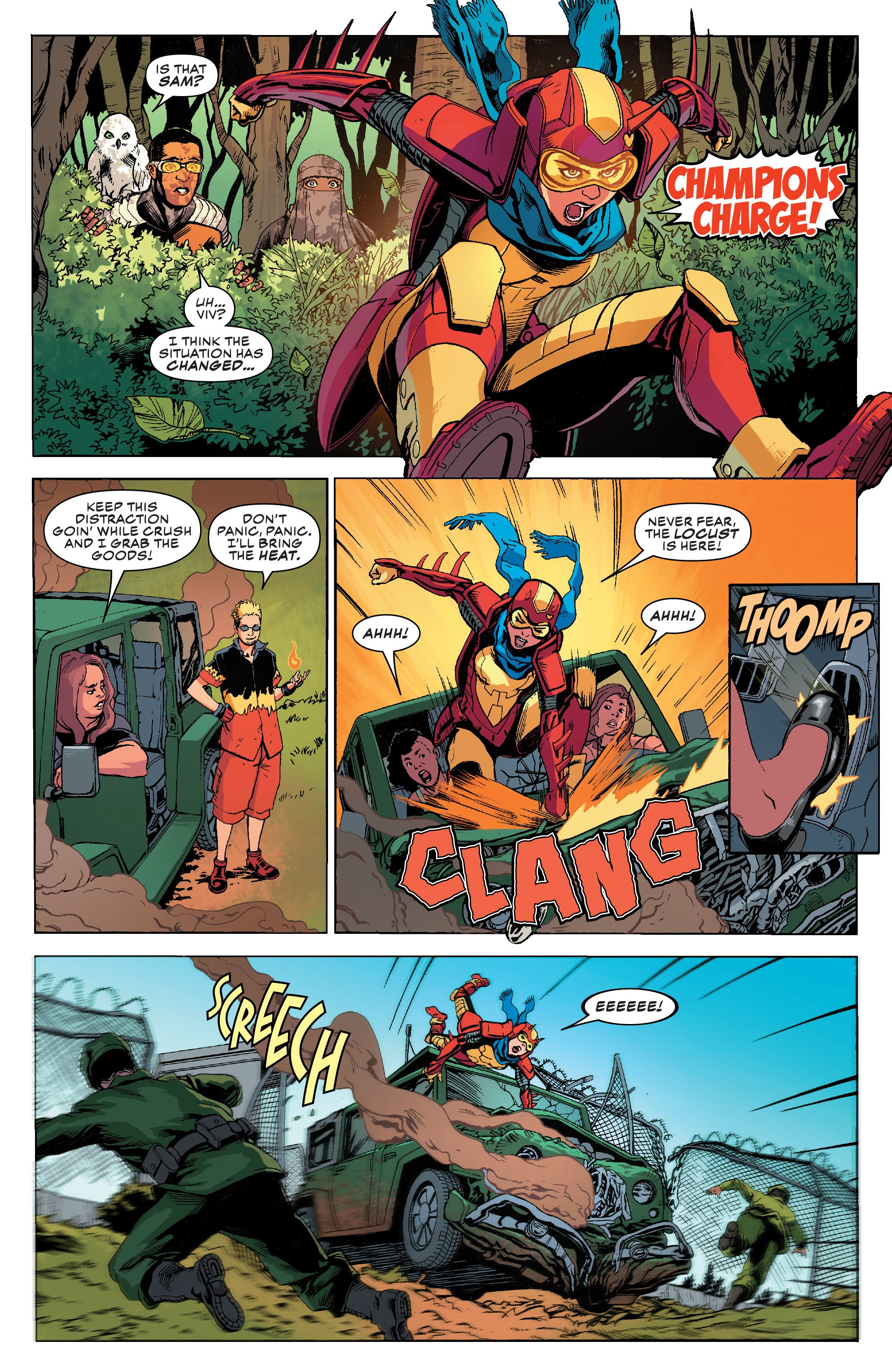 Read online Champions (2019) comic -  Issue #8 - 9