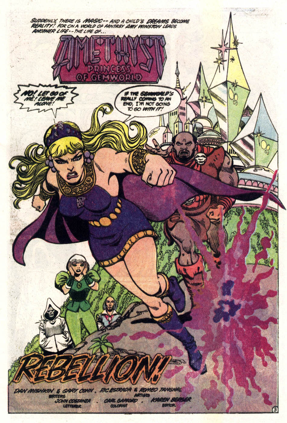 Read online Amethyst (1985) comic -  Issue #3 - 4