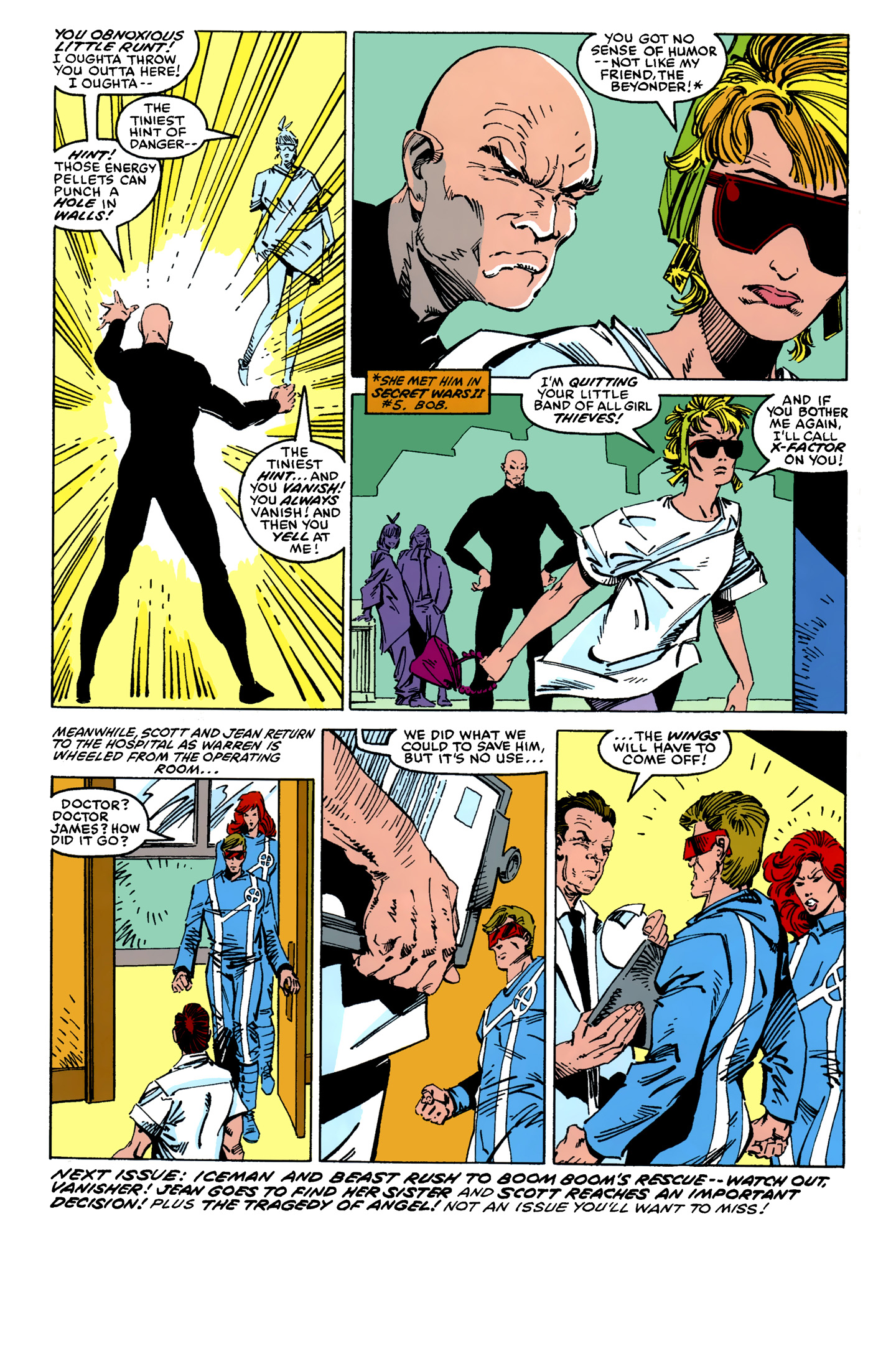 Read online X-Factor (1986) comic -  Issue #11 - 25