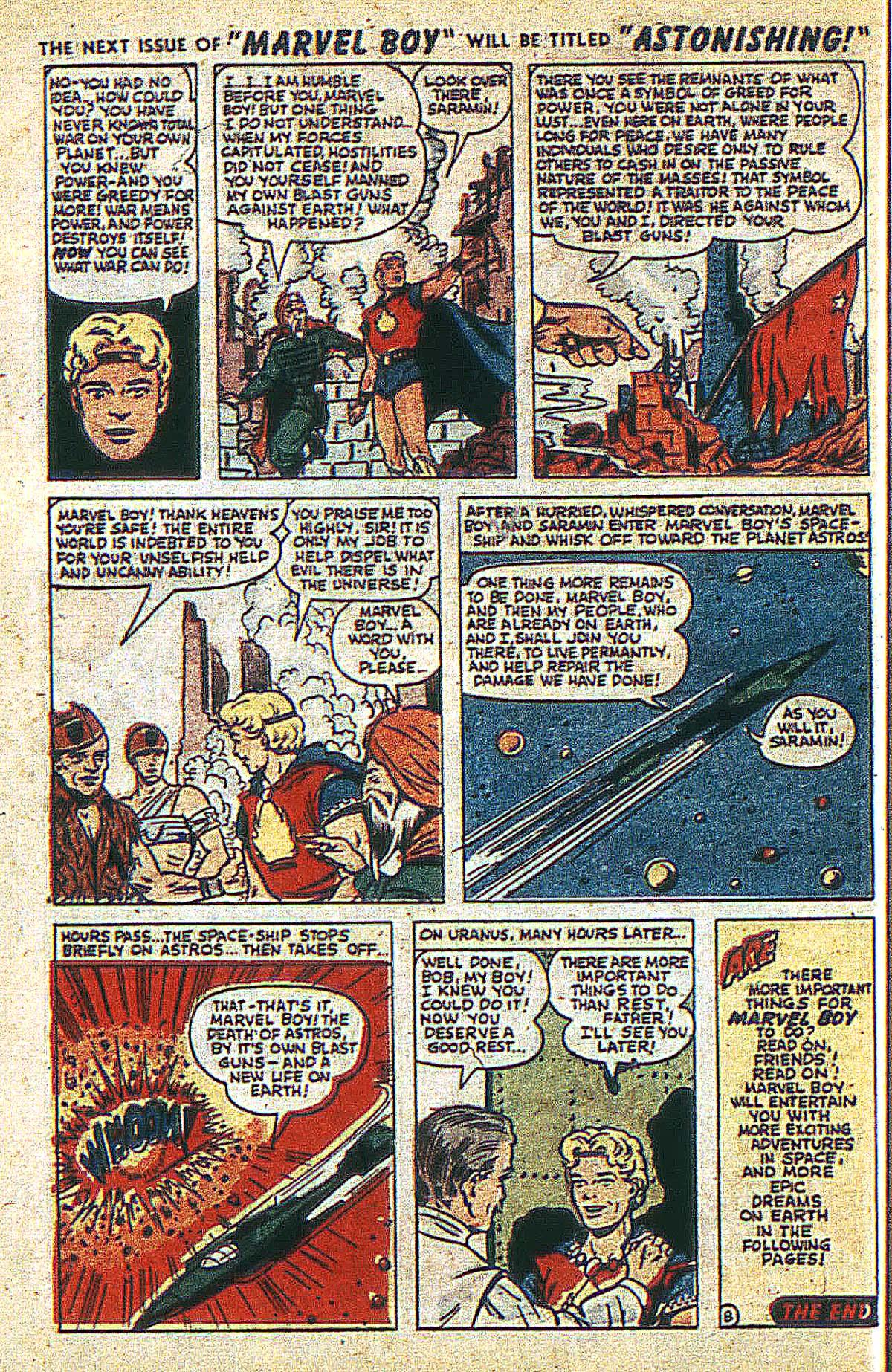 Read online Marvel Boy (1950) comic -  Issue #2 - 11