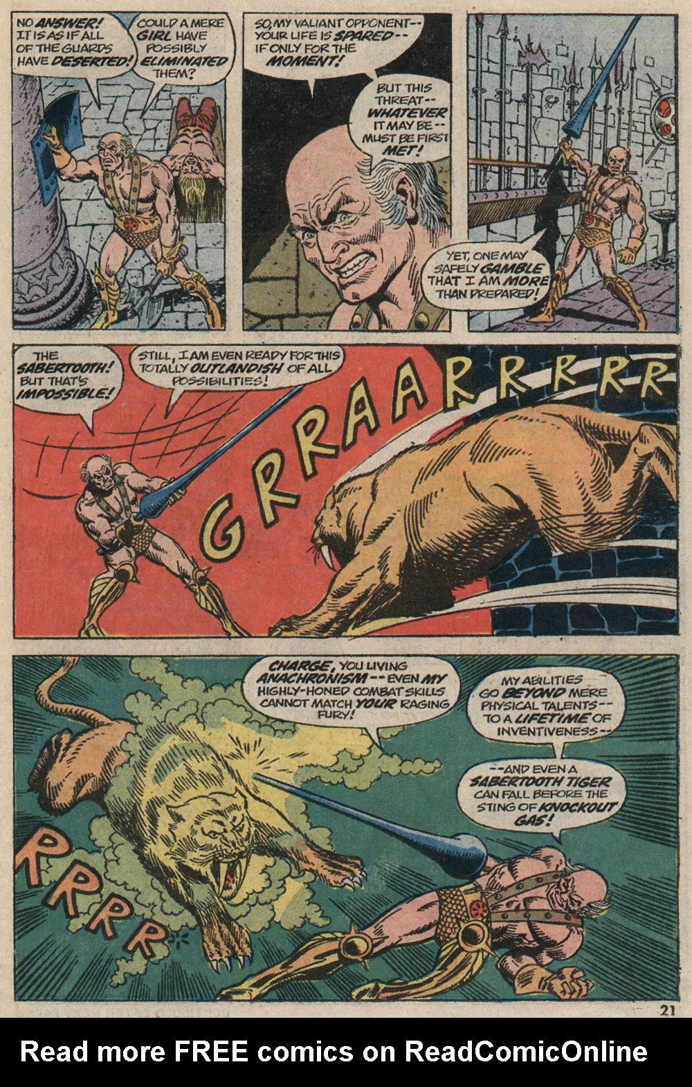 Read online Astonishing Tales (1970) comic -  Issue #20 - 15