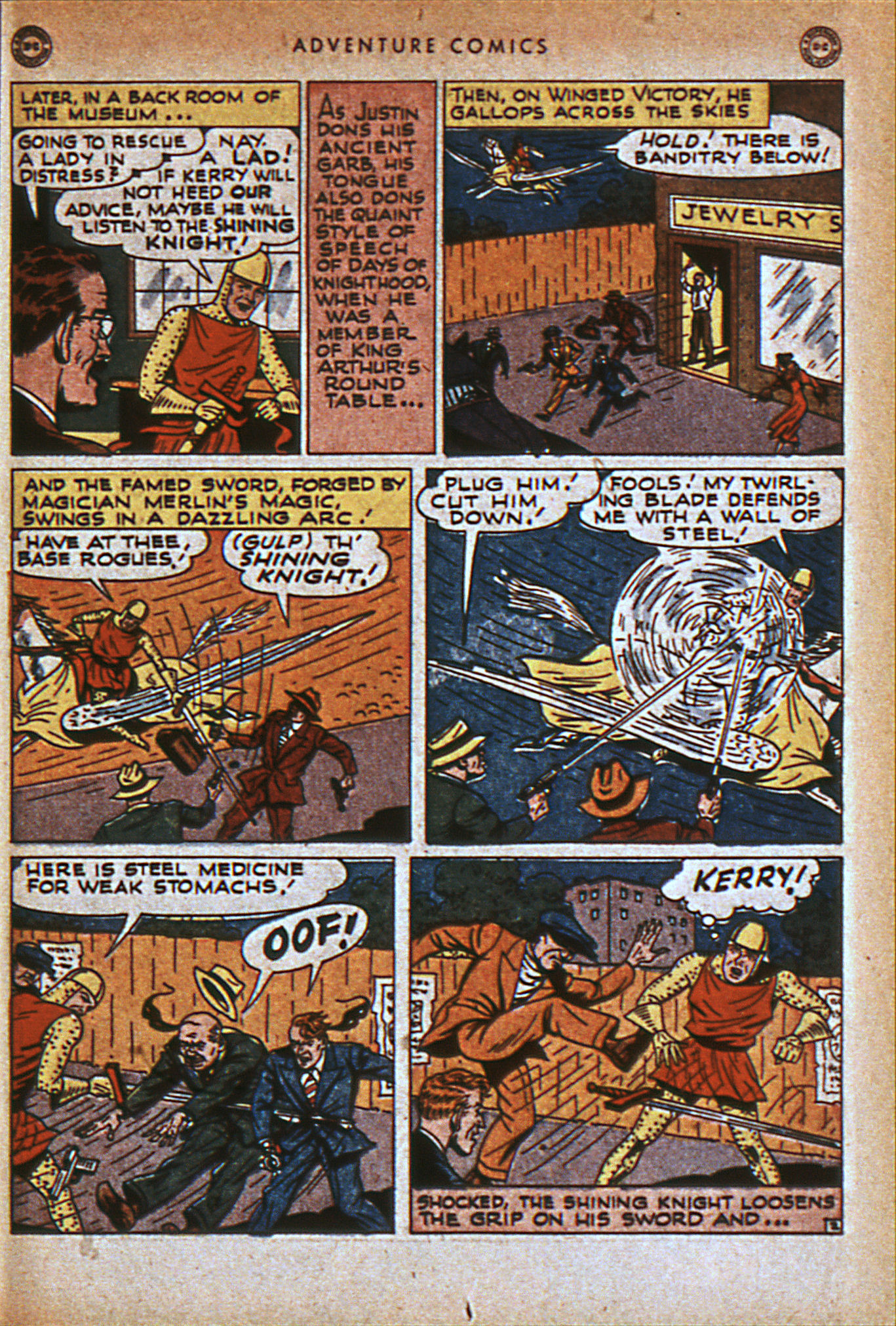 Read online Adventure Comics (1938) comic -  Issue #116 - 24