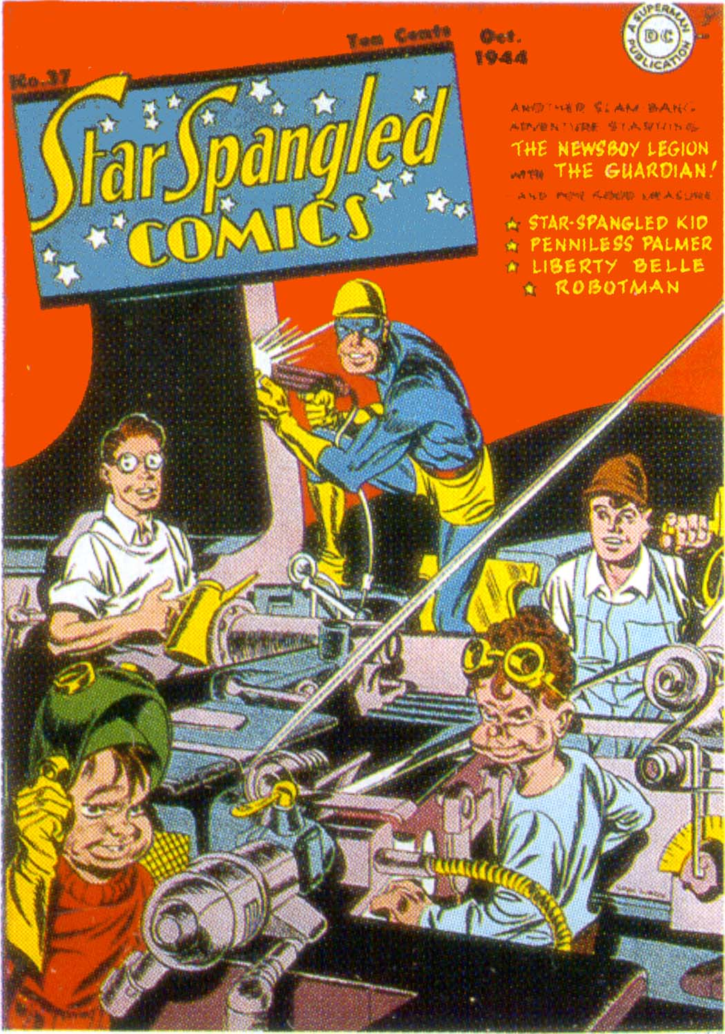 Star Spangled Comics (1941) issue 37 - Page 1