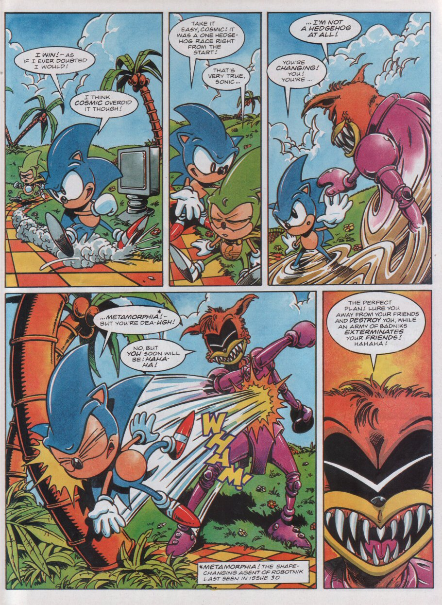 Read online Sonic the Comic comic -  Issue #31 - 6
