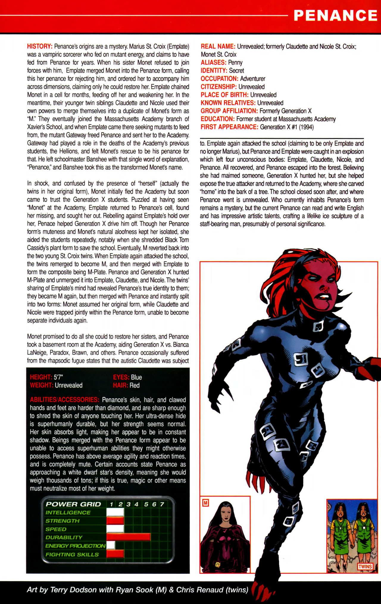 Read online All-New Official Handbook of the Marvel Universe A to Z comic -  Issue #8 - 37