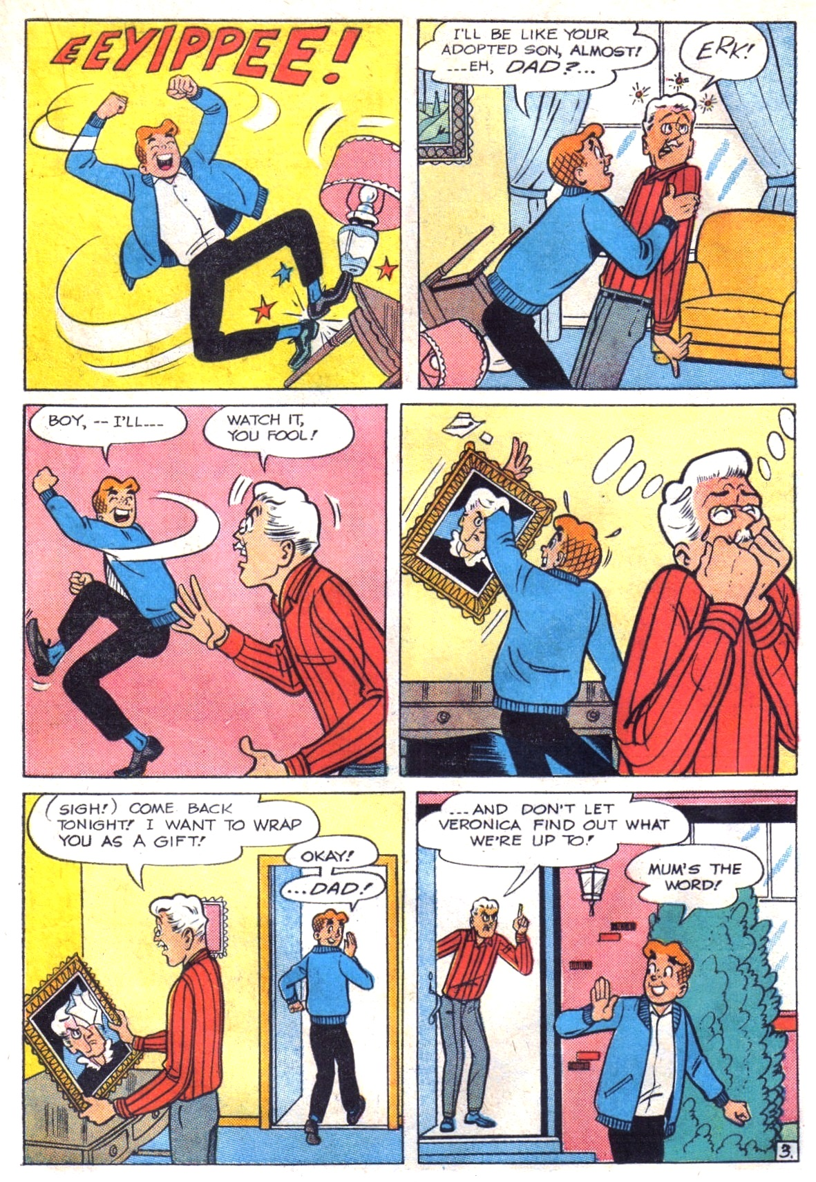 Read online Archie (1960) comic -  Issue #147 - 15