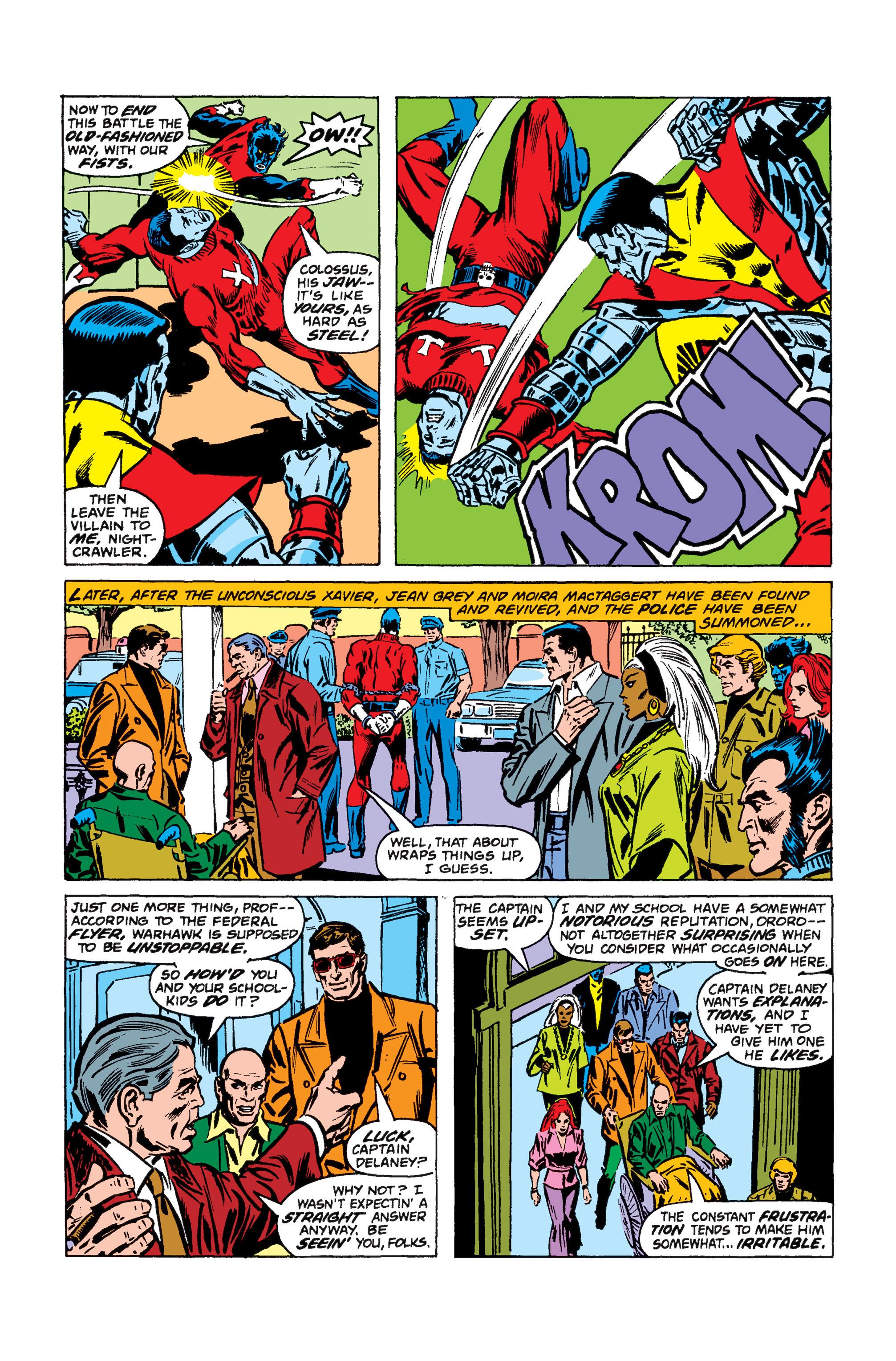 Read online Uncanny X-Men (1963) comic -  Issue #110 - 17