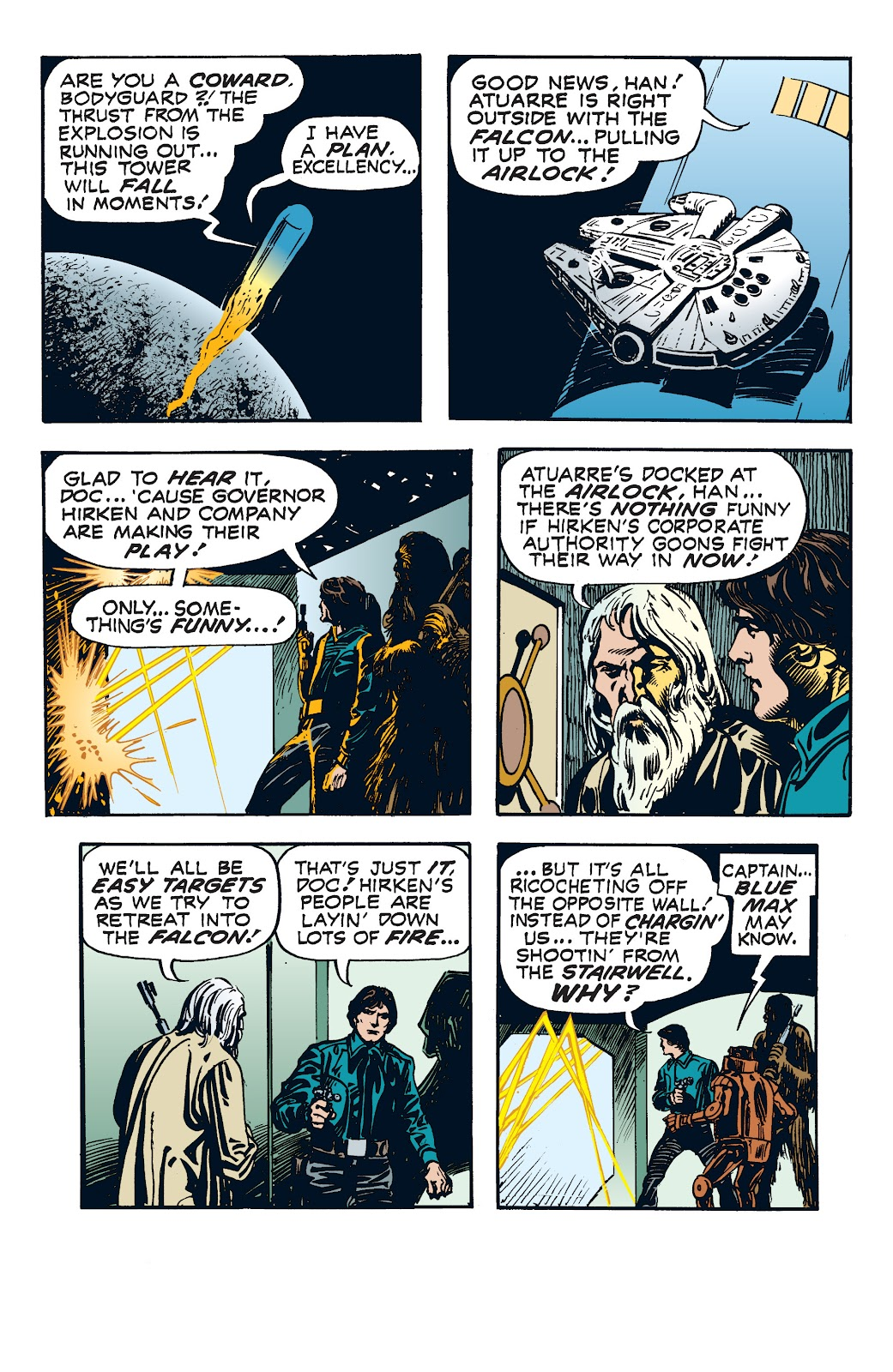 Read online Star Wars Legends: The Newspaper Strips - Epic Collection comic -  Issue # TPB (Part 4) - 69
