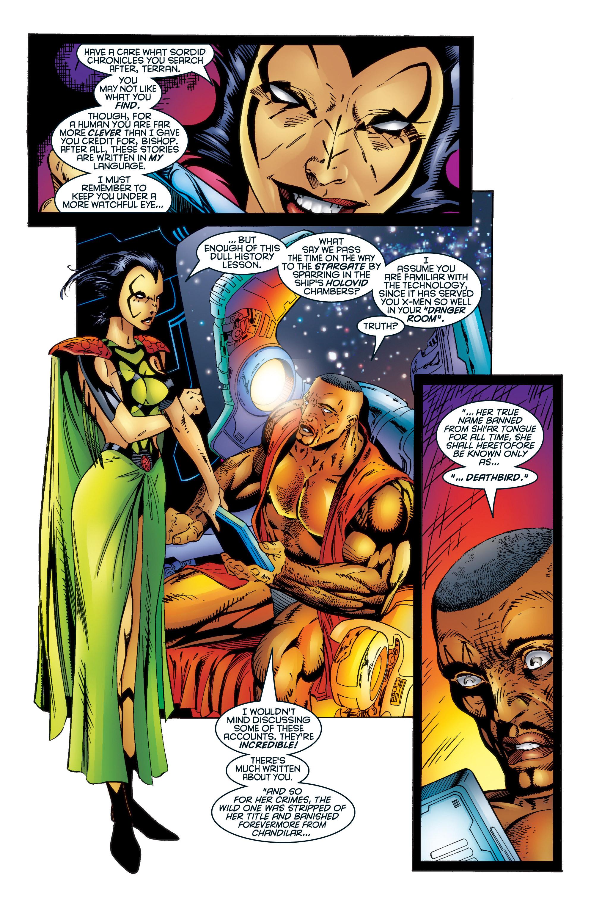 Read online Uncanny X-Men (1963) comic -  Issue #345 - 19