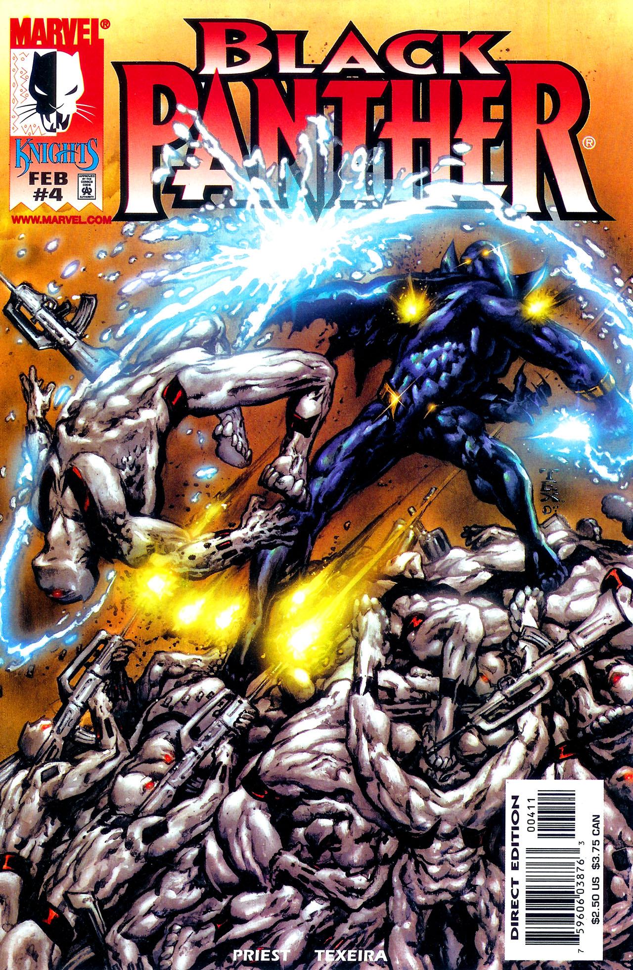 Black Panther (1998) 4 Page 1