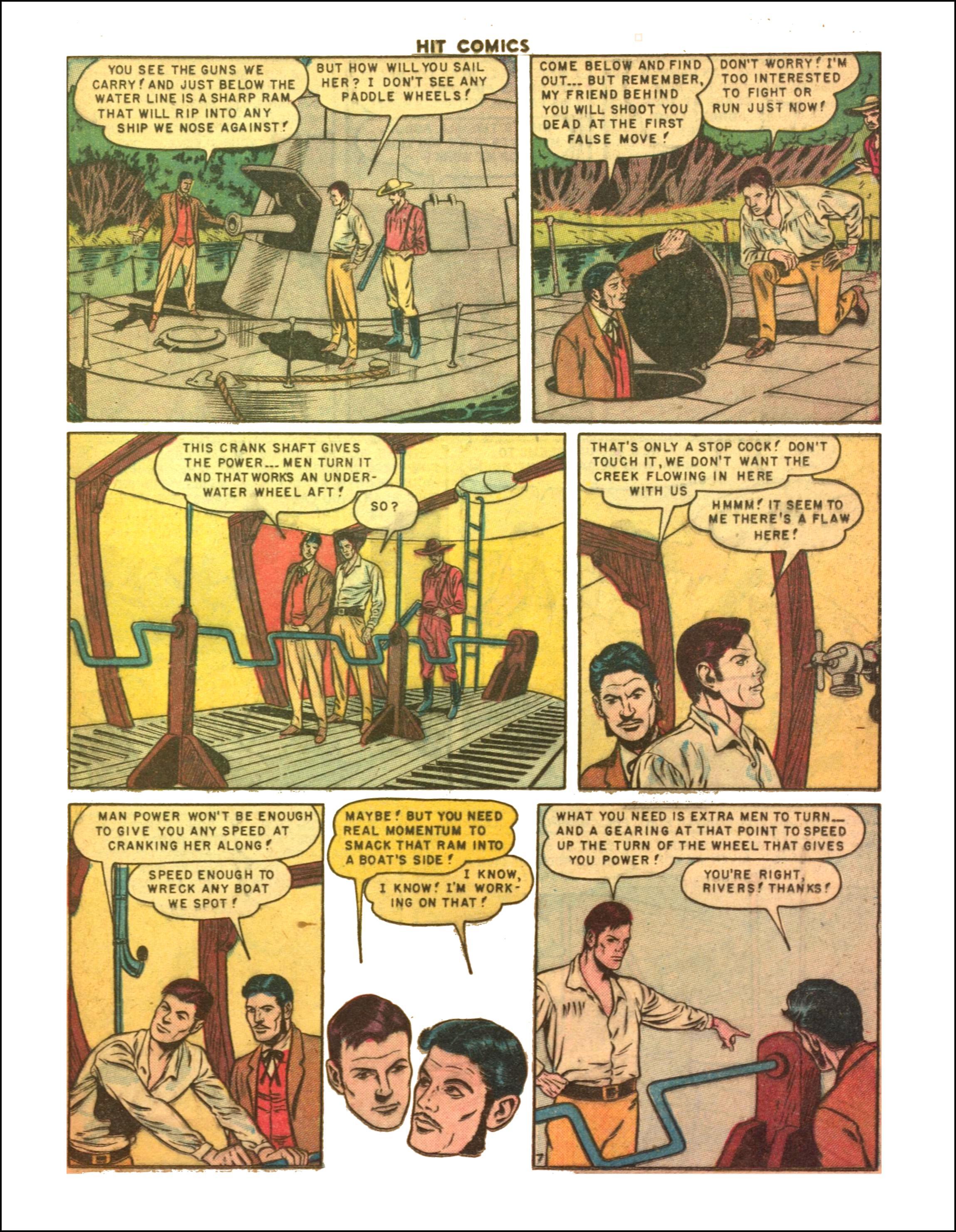 Read online Hit Comics comic -  Issue #65 - 9