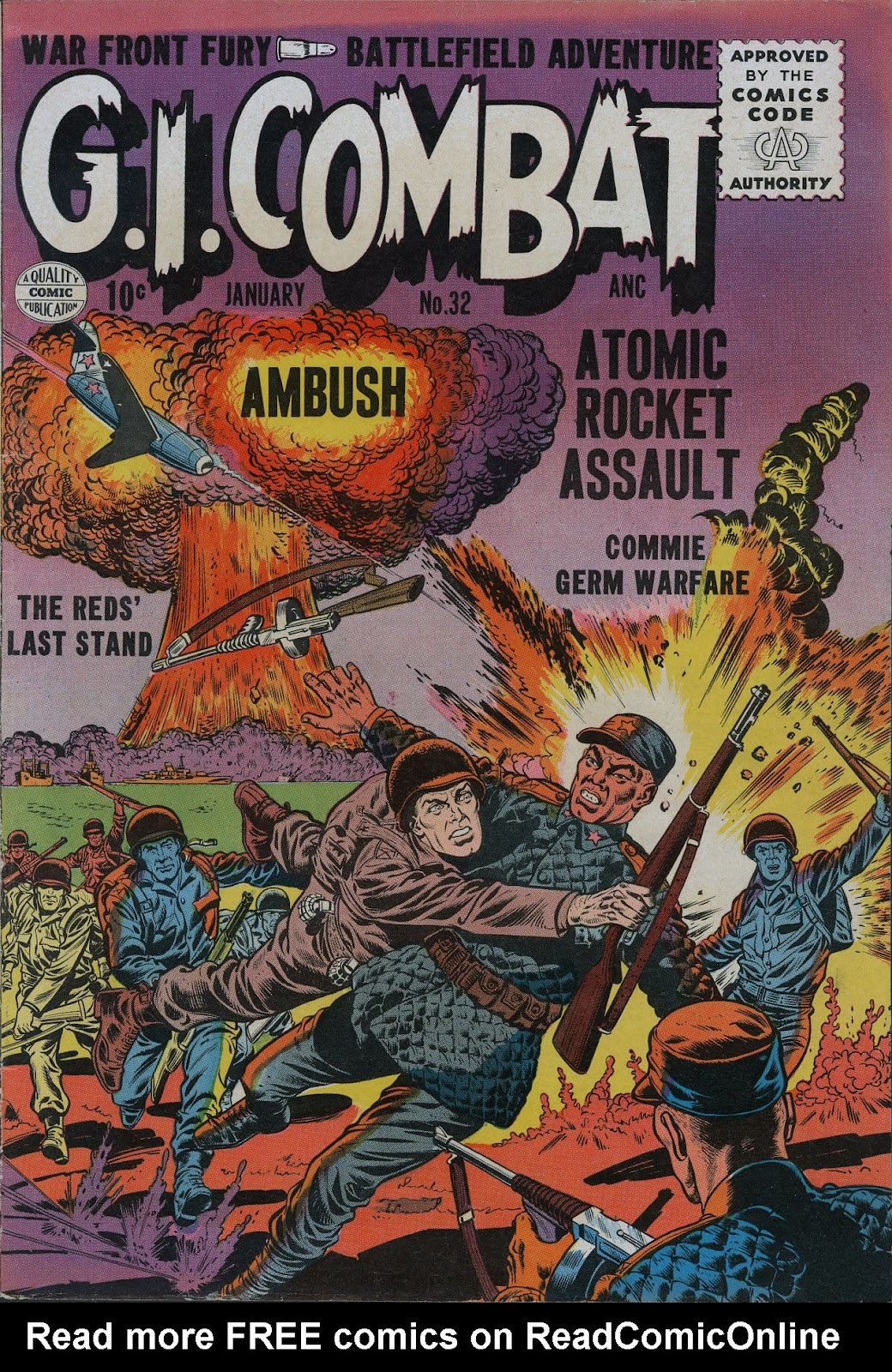 G.I. Combat (1952) issue 32 - Page 1