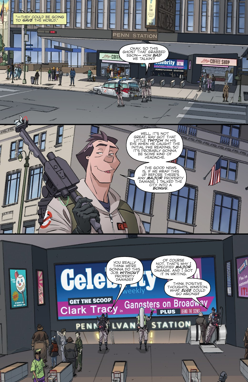 Read online Ghostbusters 35th Anniversary: Ghostbusters comic -  Issue # Full - 12