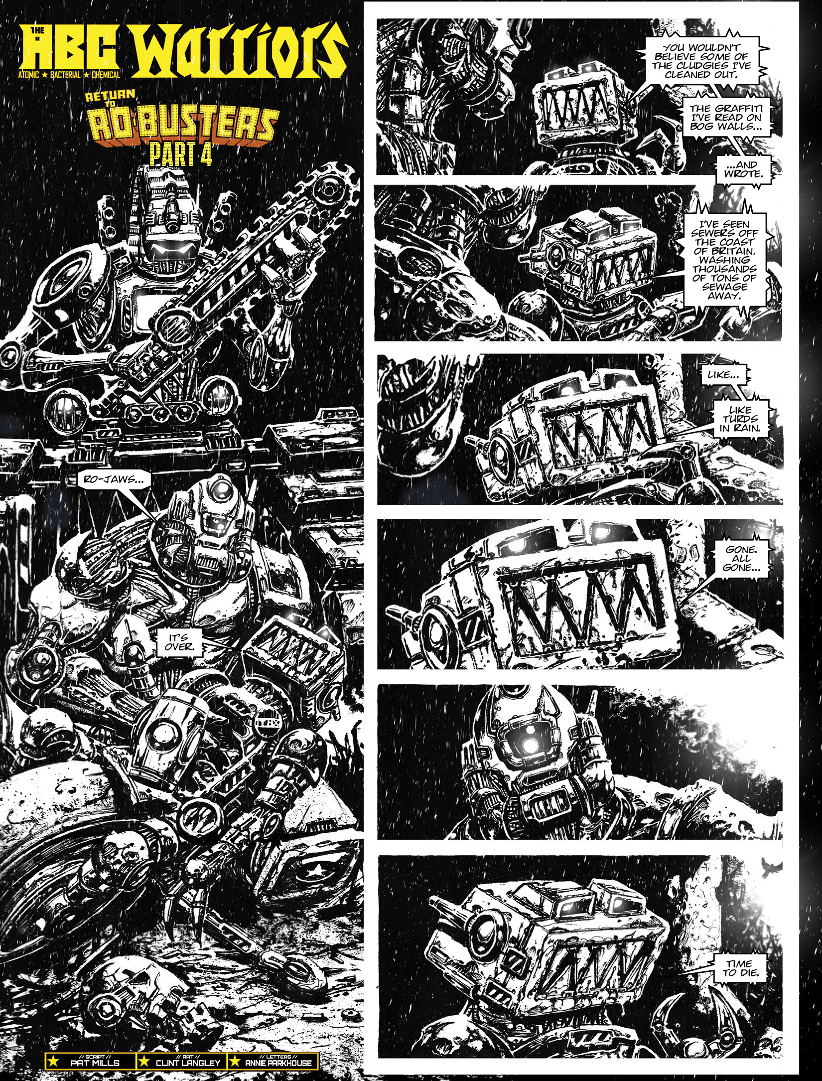 Read online 2000 AD comic -  Issue #1964 - 19