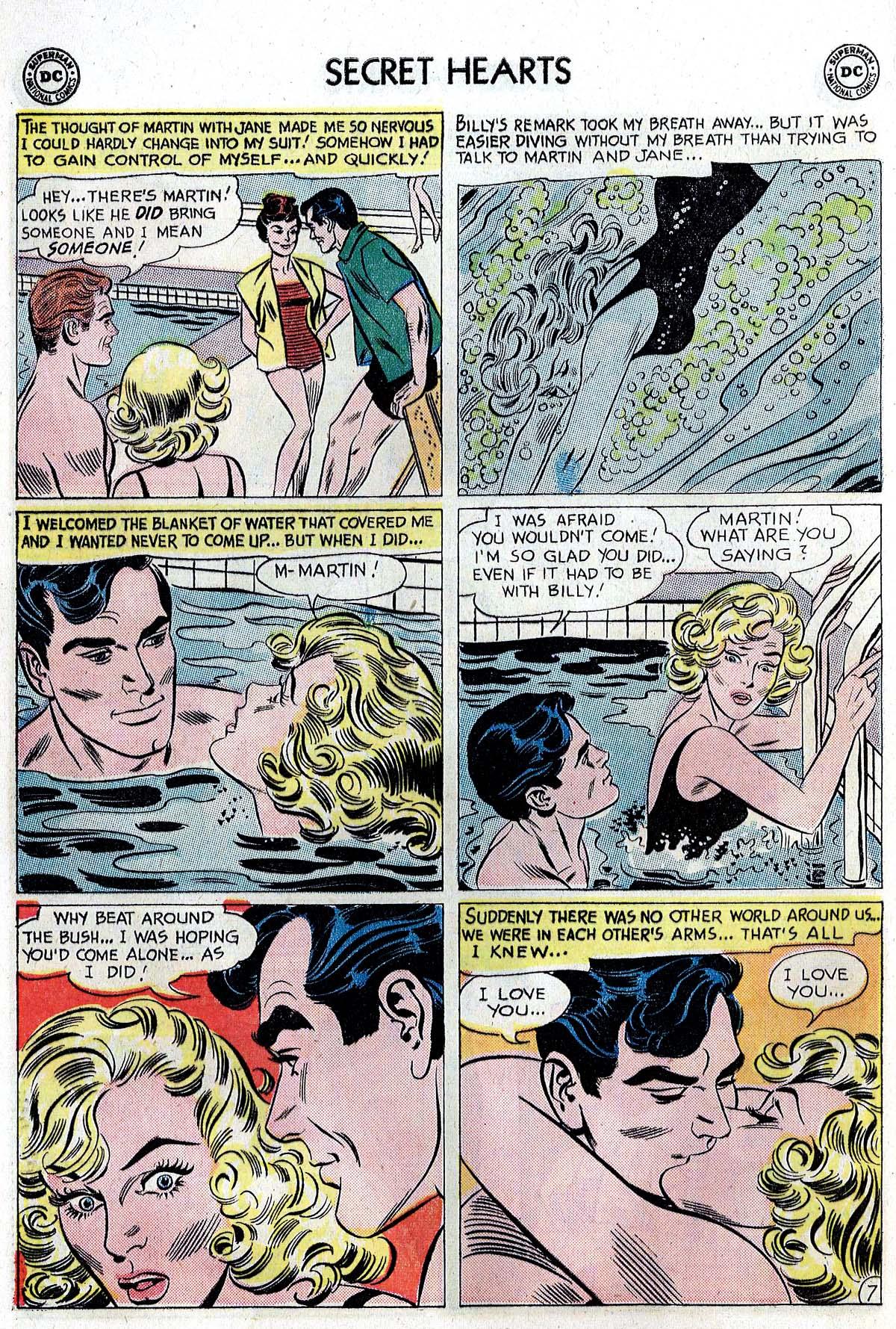 Read online Secret Hearts comic -  Issue #82 - 16