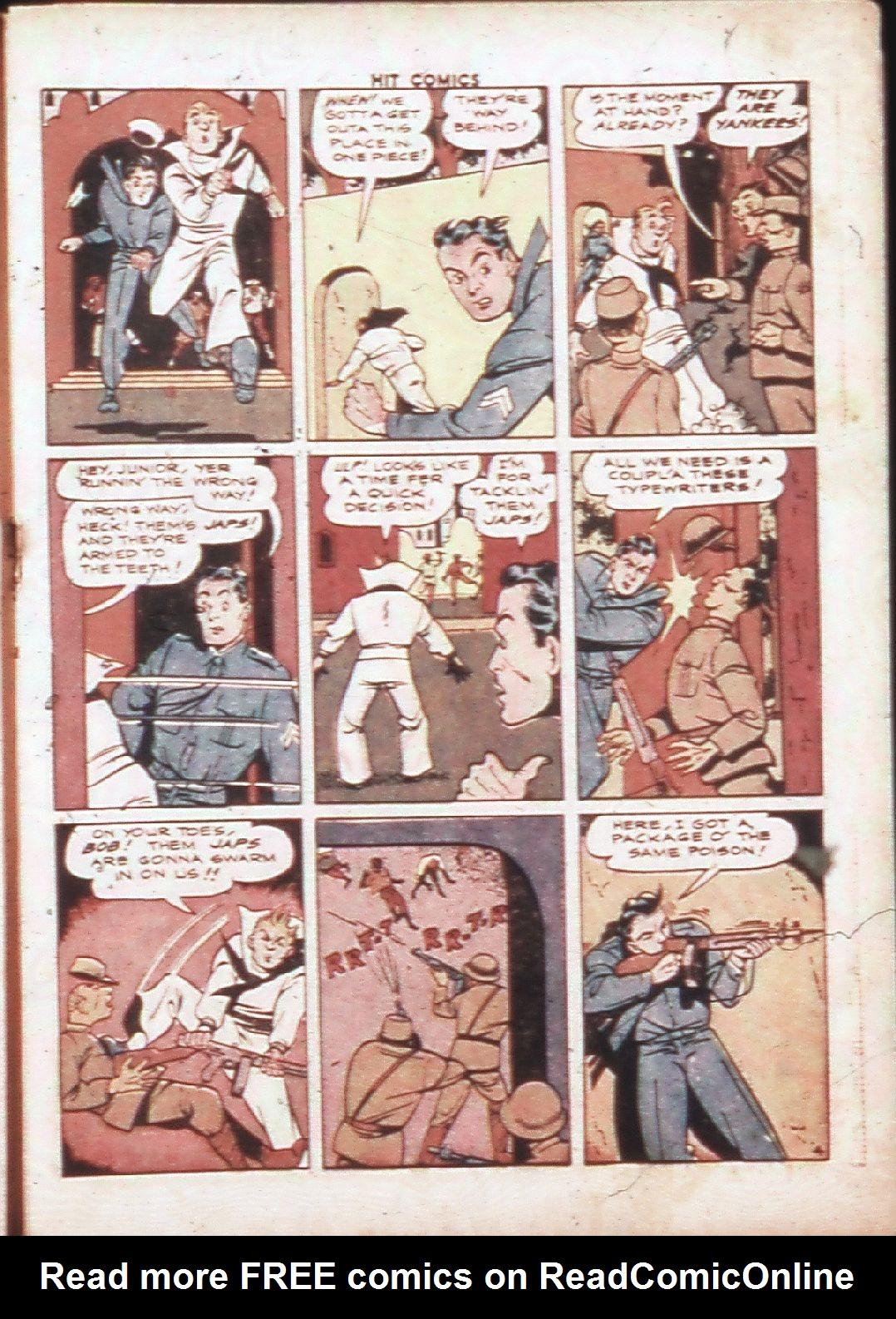 Read online Hit Comics comic -  Issue #30 - 30