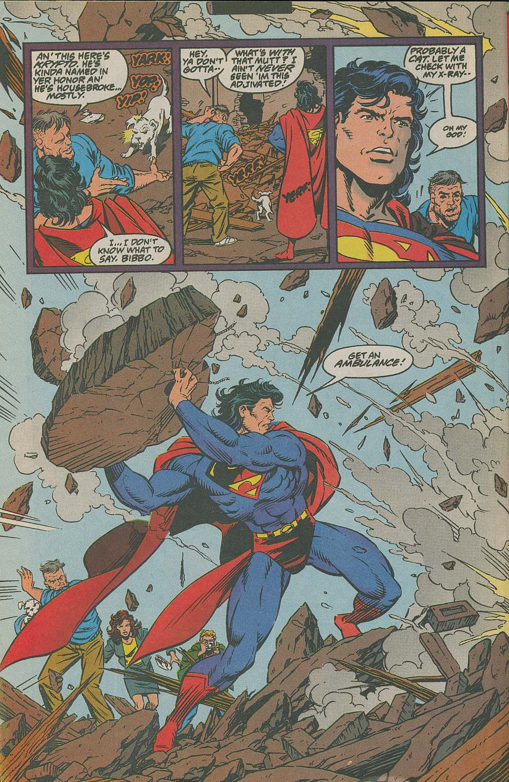 Read online Adventures of Superman (1987) comic -  Issue #505 - 21