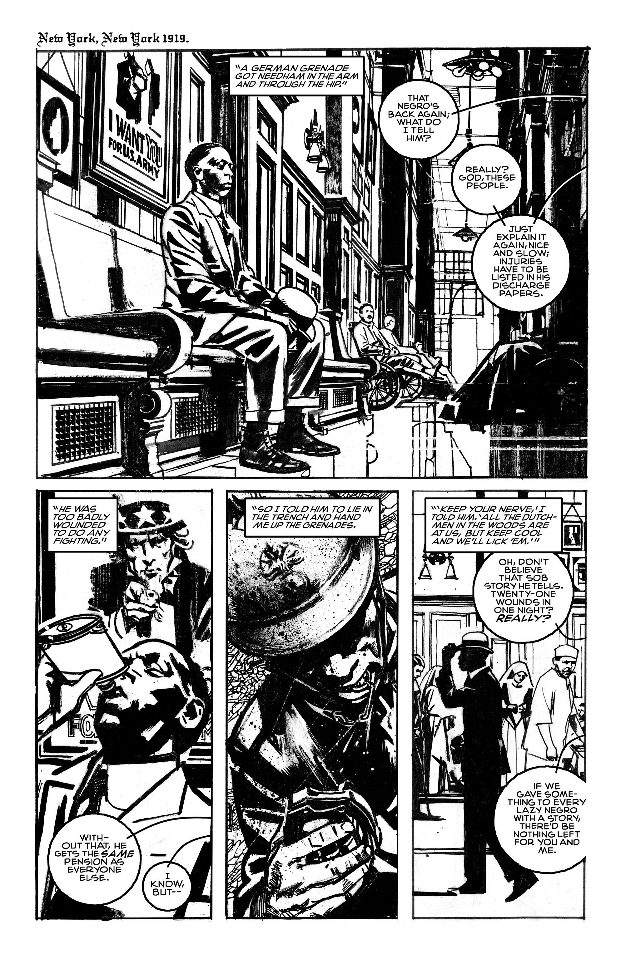 Read online Black Death in America comic -  Issue # Full - 3