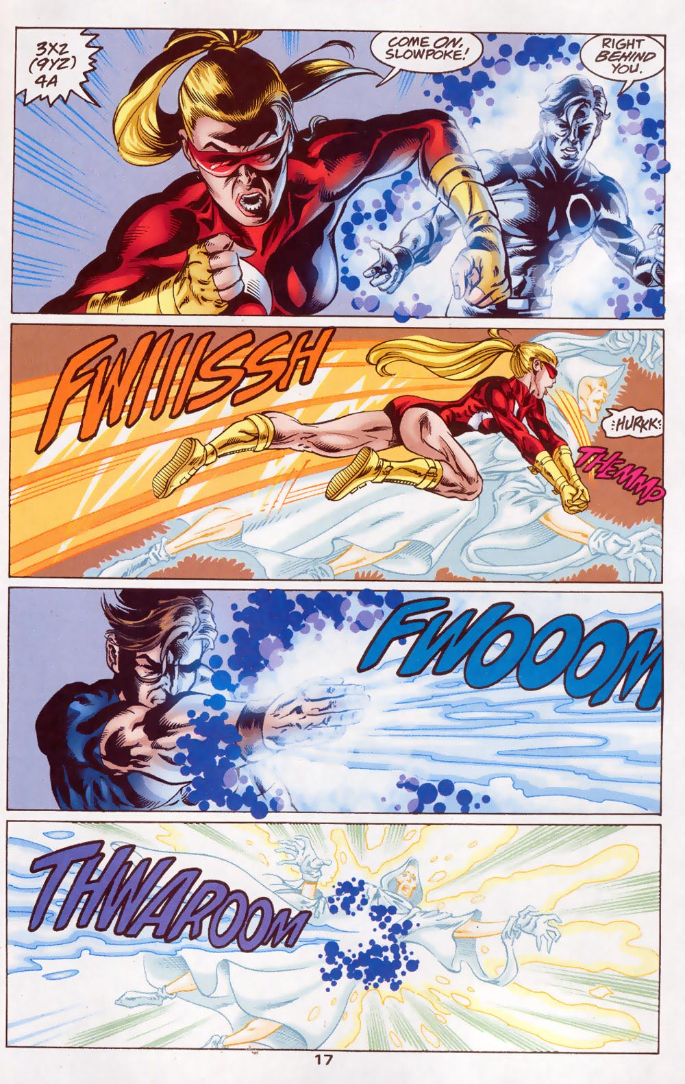Read online The Titans (1999) comic -  Issue #46 - 18